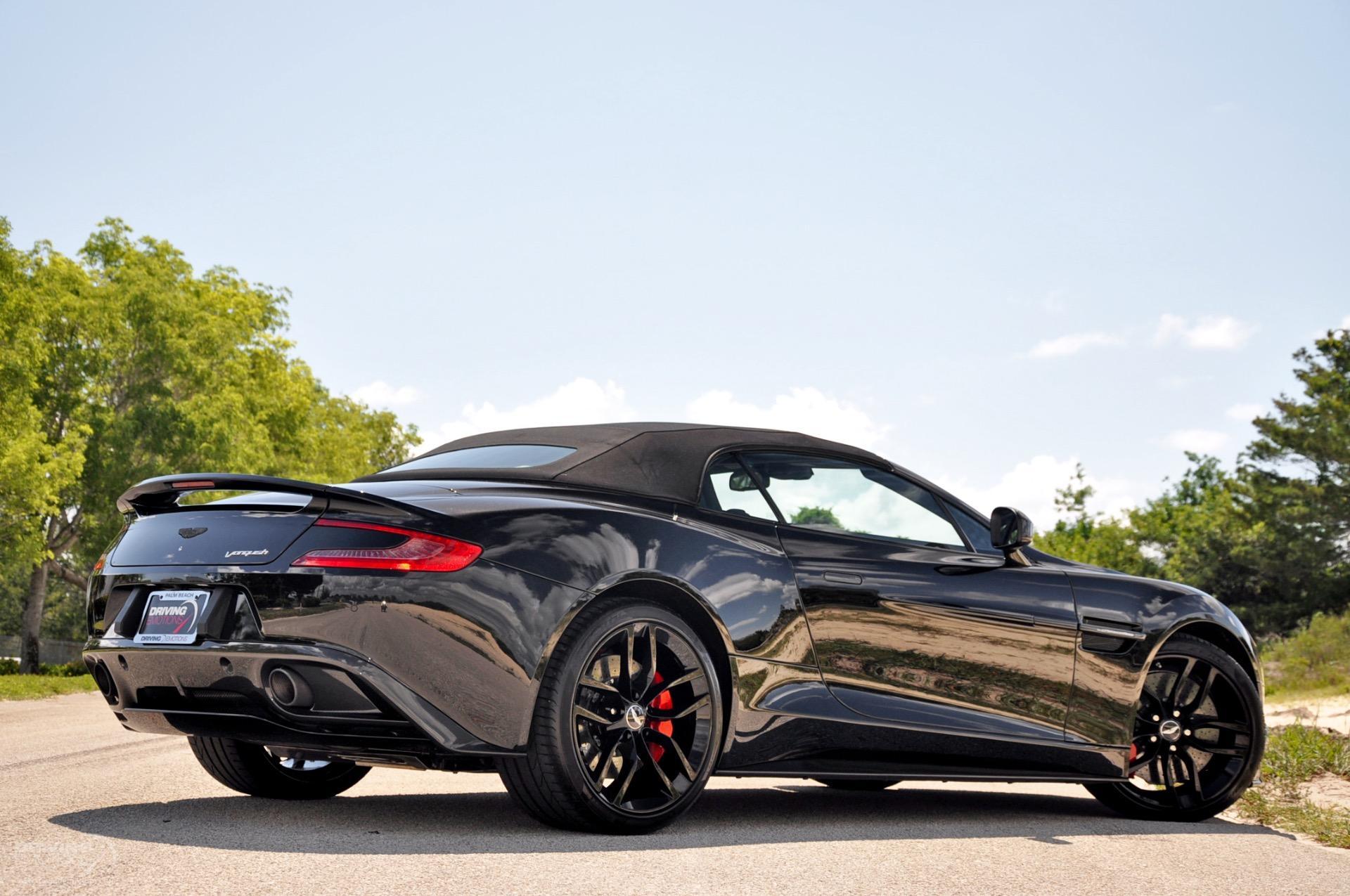 2015 Aston Martin Vanquish Volante Carbon Black Edition Volante