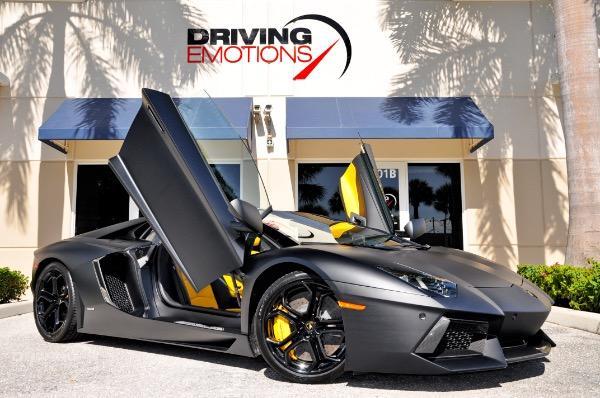 Used 2014 Lamborghini Aventador LP700 4 Roadster Lake Park, FL