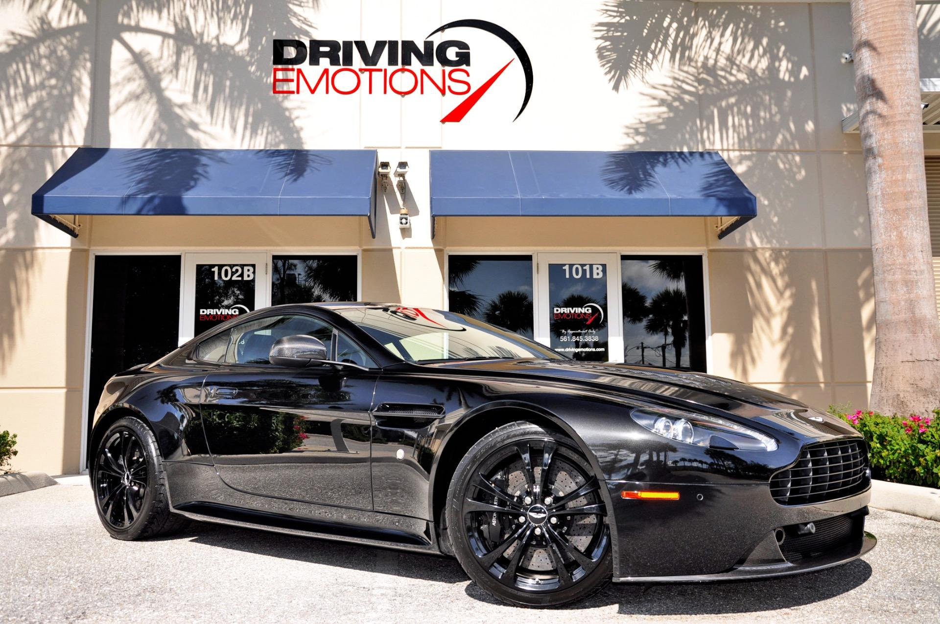 Aston Martin V Vantage V Carbon Black Stock For Sale - Aston martin dealership florida