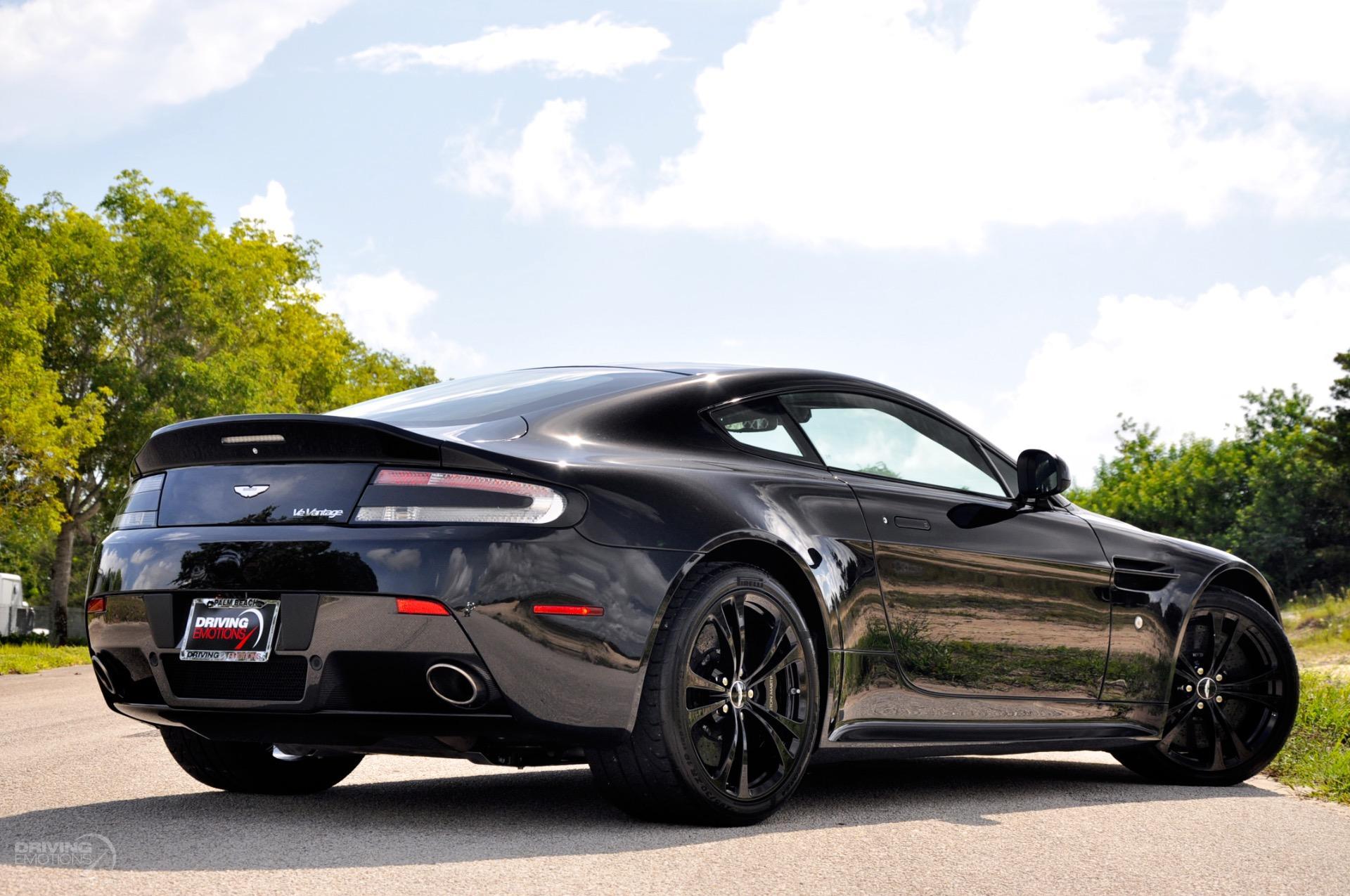 2012 Aston Martin V12 Vantage V12 Carbon Black Stock ...