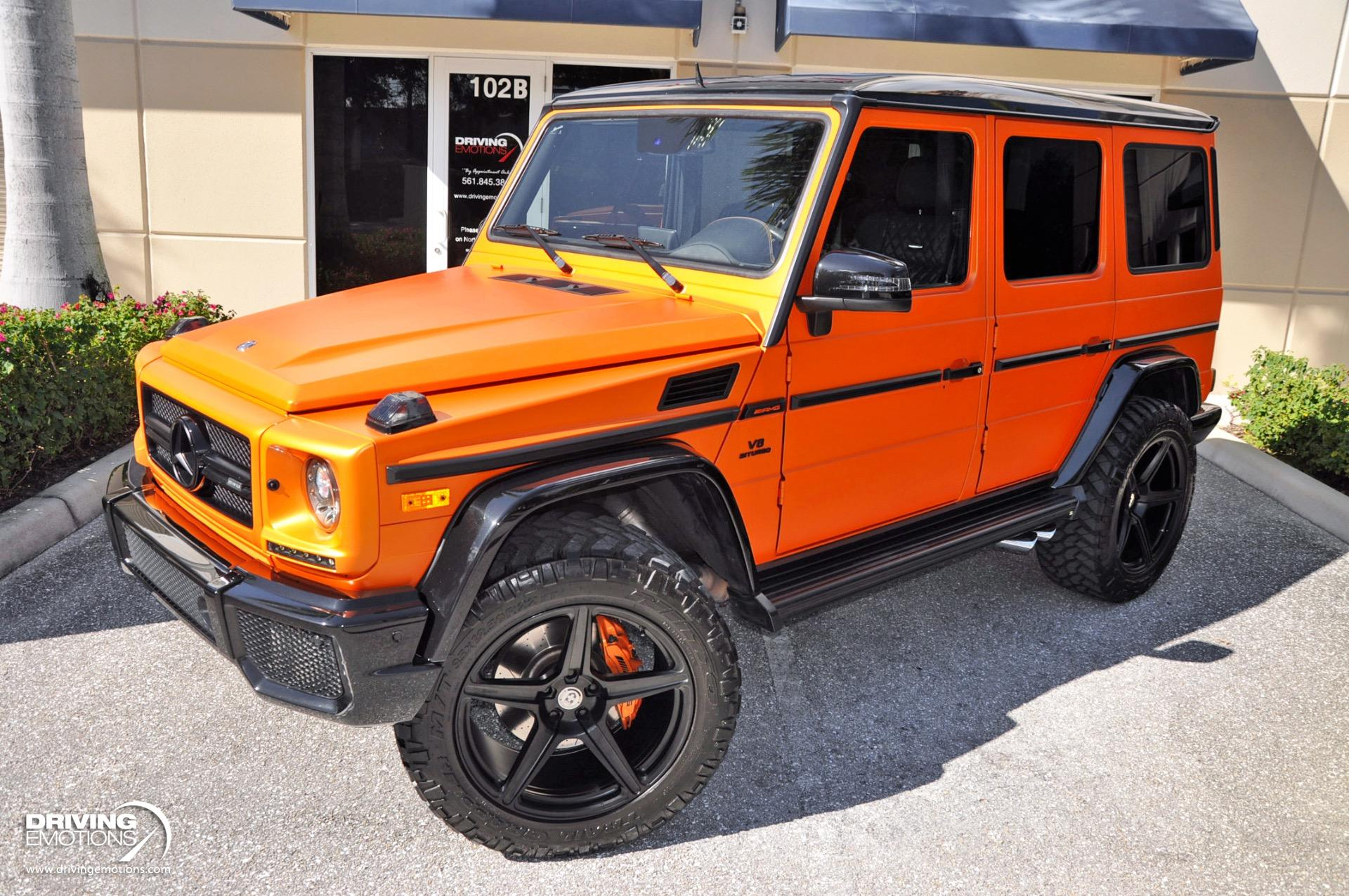 Used 2016 Mercedes-Benz G63 AMG AMG G 63 Studio Package Crazy Color Edition | Lake Park, FL