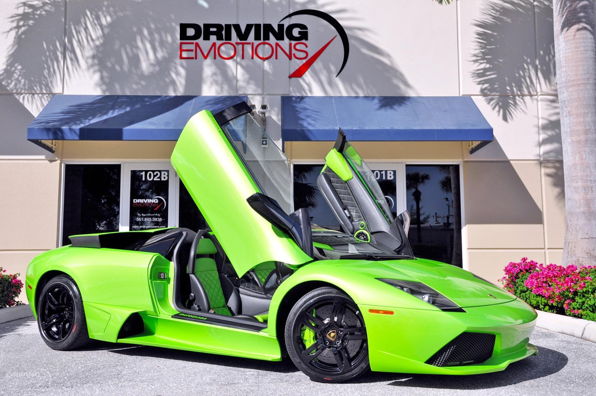 2009 Lamborghini Murcielago LP640 Roadster LP 640 Roadster Stock # 6071 for  sale near Lake Park, FL | FL Lamborghini Dealer