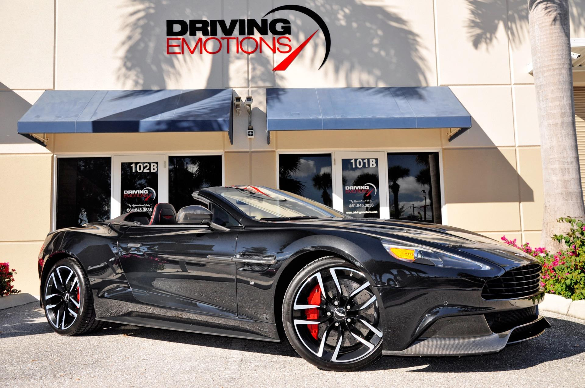2016 Aston Martin Vanquish Volante Carbon Black Edition Carbon Edition Volante Stock 6077 For Sale Near Lake Park Fl Fl Aston Martin Dealer