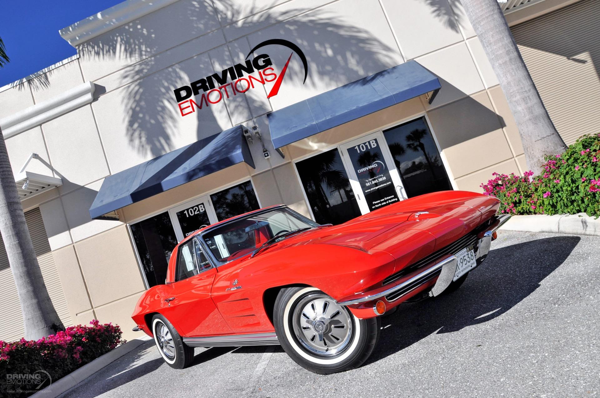 Used 1964 Chevrolet Corvette Convertible Fuelie FUELIE 375HP V8 Fuel Injected Convertible | Lake Park, FL