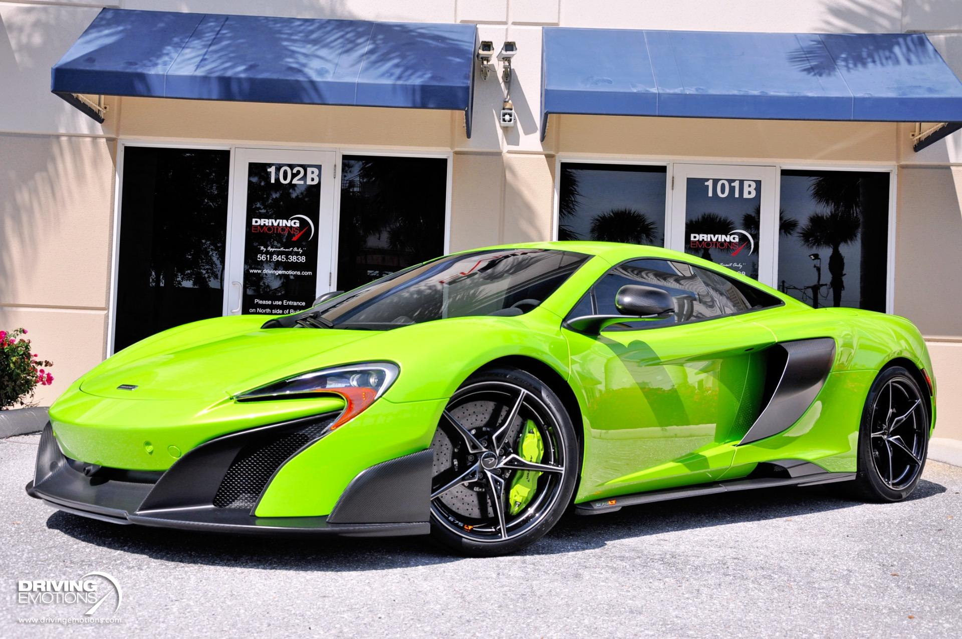 Used 2016 McLaren 675LT Coupe | Lake Park, FL