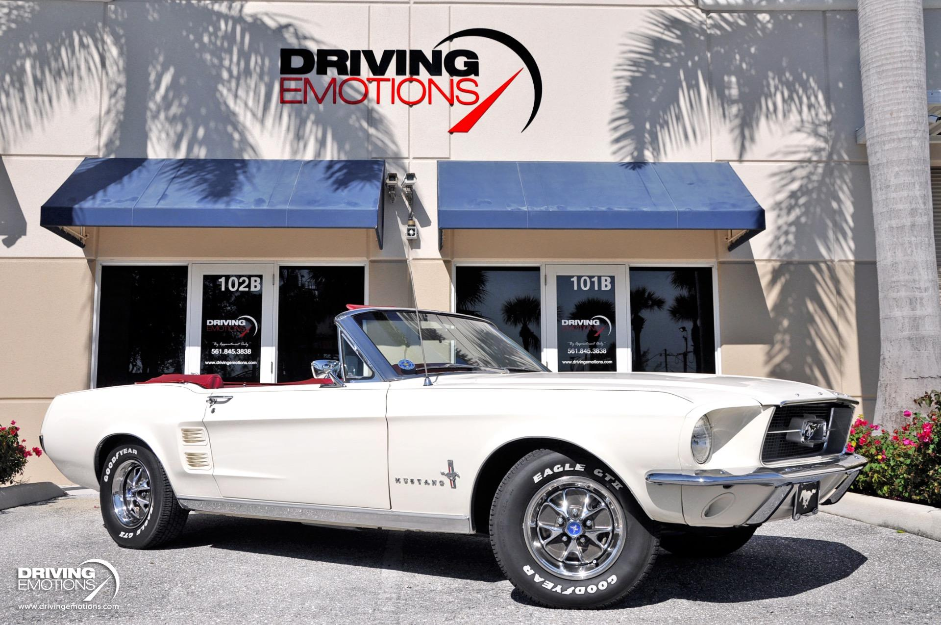 1967 Ford Mustang Convertible Stock 6009 For Sale Near Lake Park Fl Fl Ford Dealer