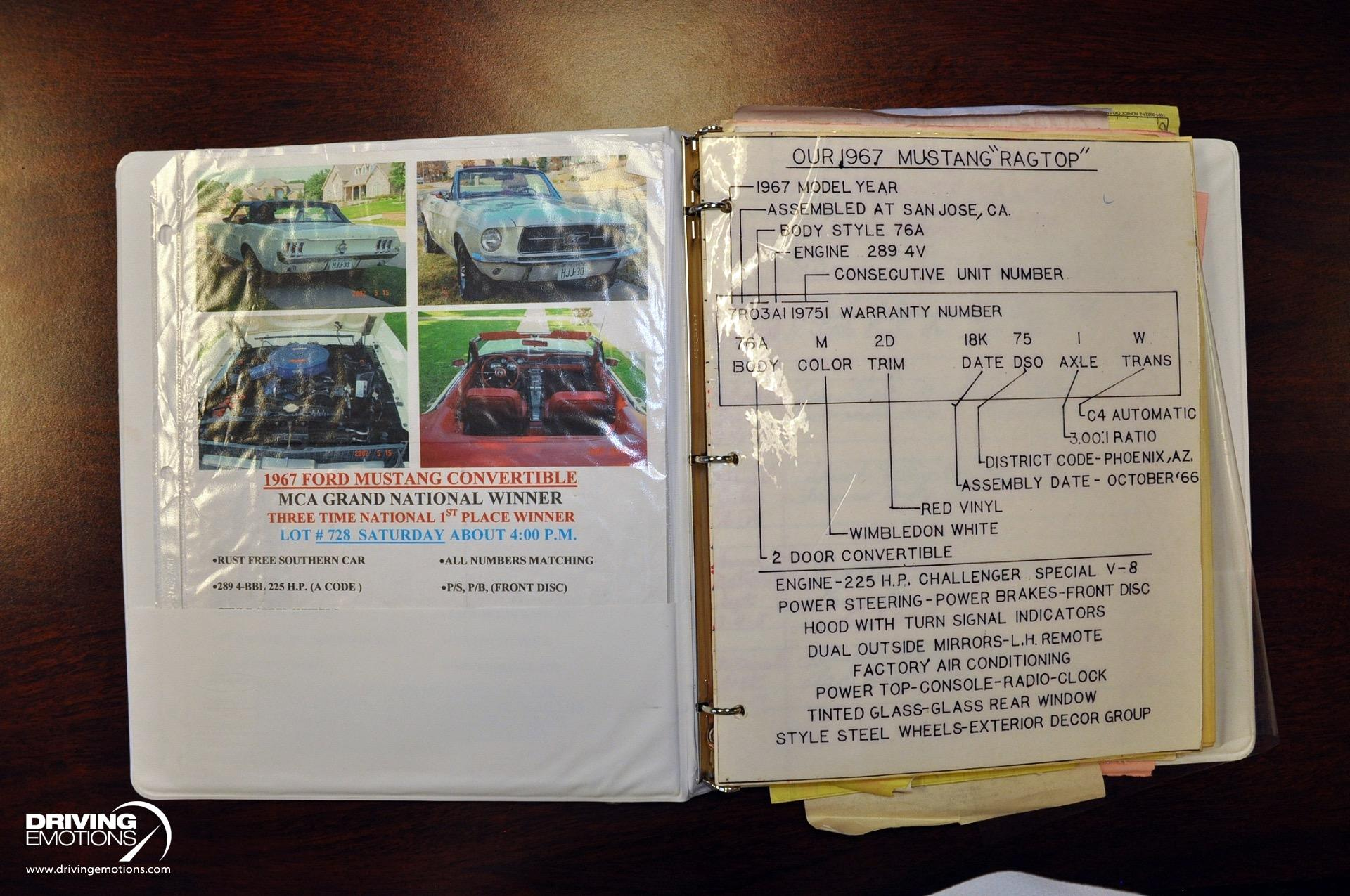 Used 1967 Ford Mustang Convertible  | Lake Park, FL