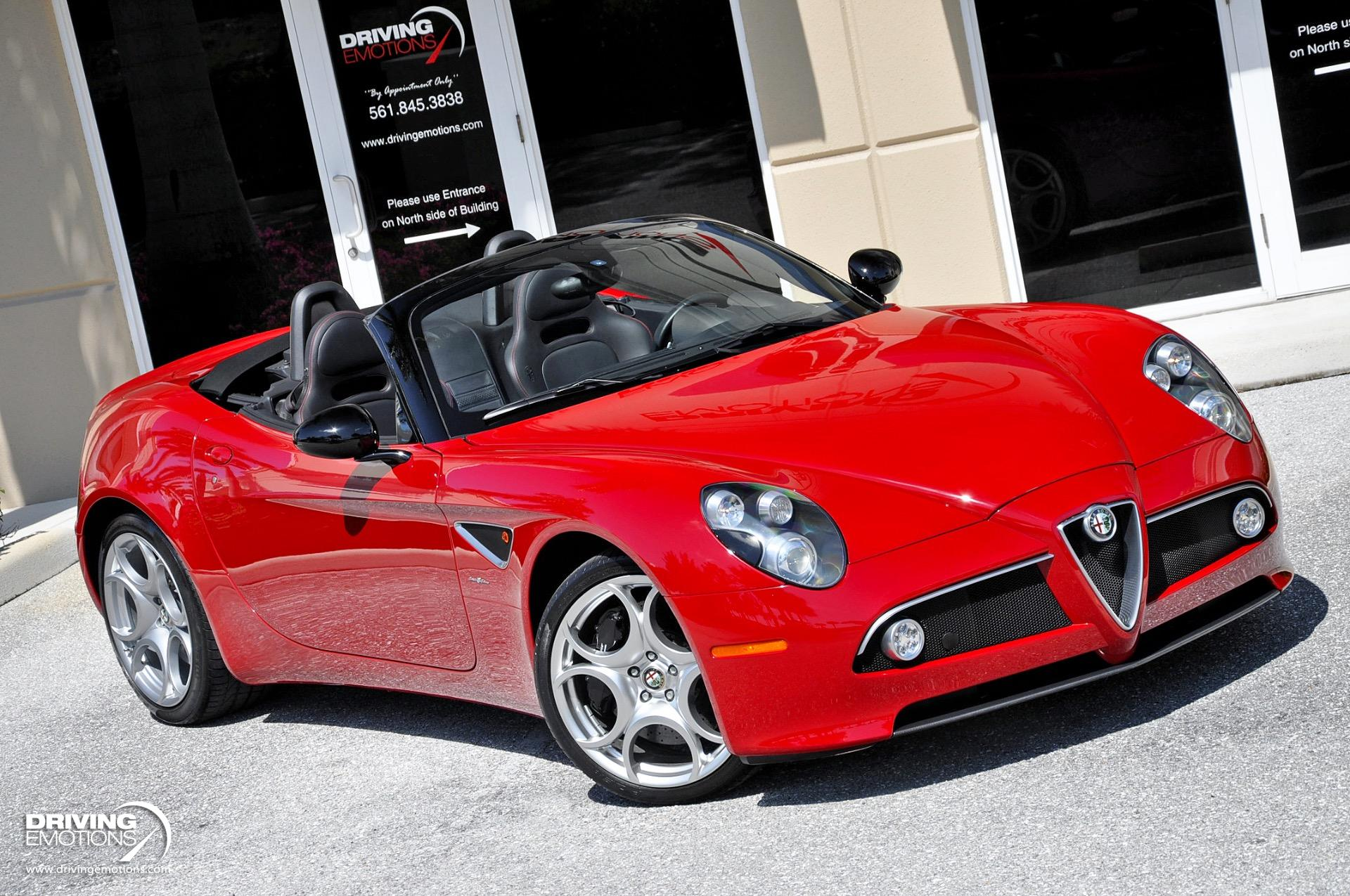 Used 2009 Alfa Romeo 8C Spider  | Lake Park, FL