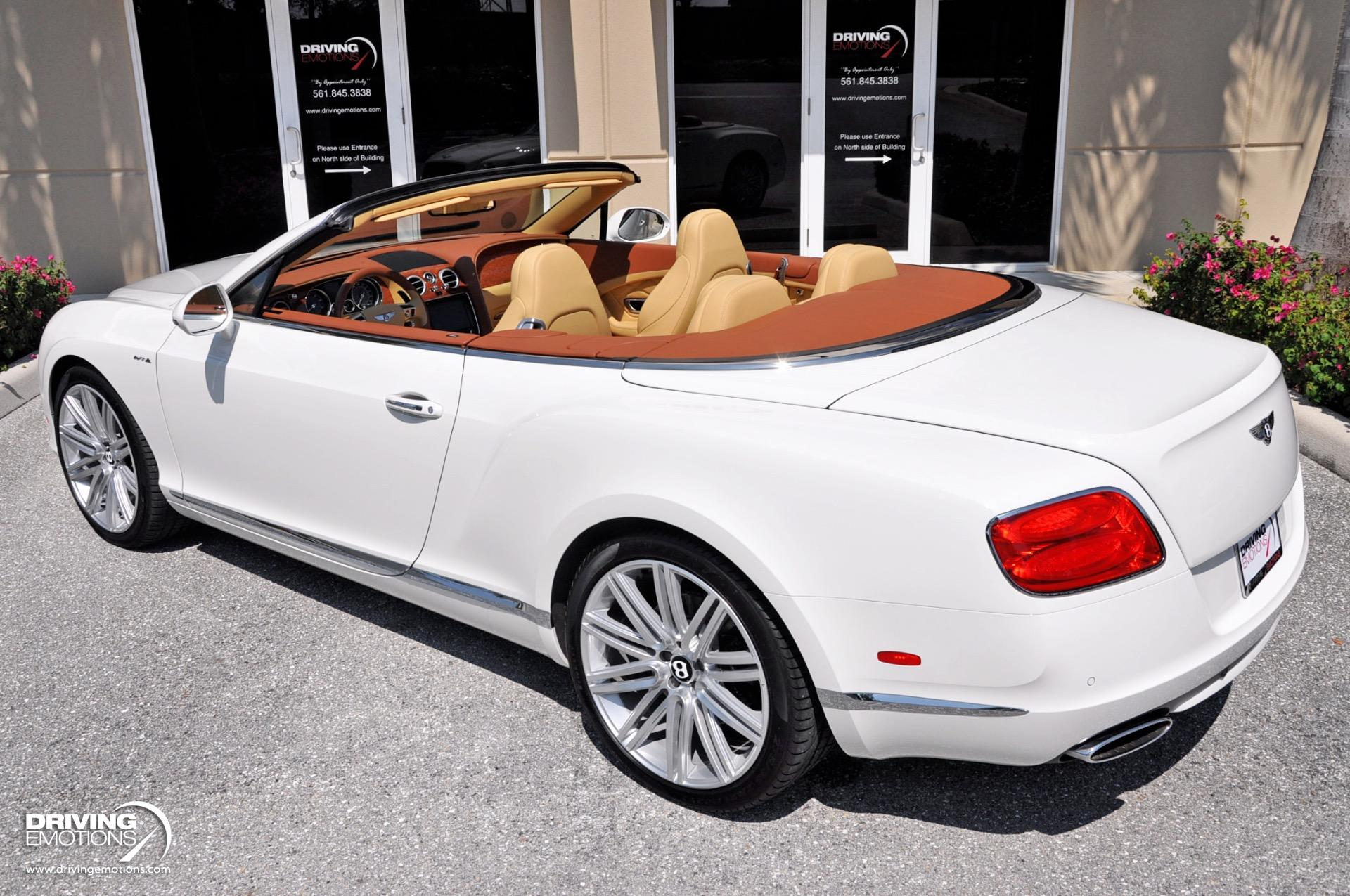Used 2014 Bentley Continental GT Speed Convertible GTC Speed W12 | Lake Park, FL