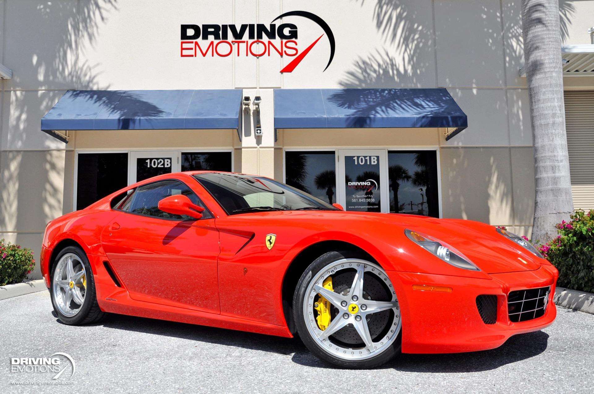 2008 Ferrari 599 Gtb Fiorano F1 Stock 6120 For Sale Near Lake Park Fl Fl Ferrari Dealer