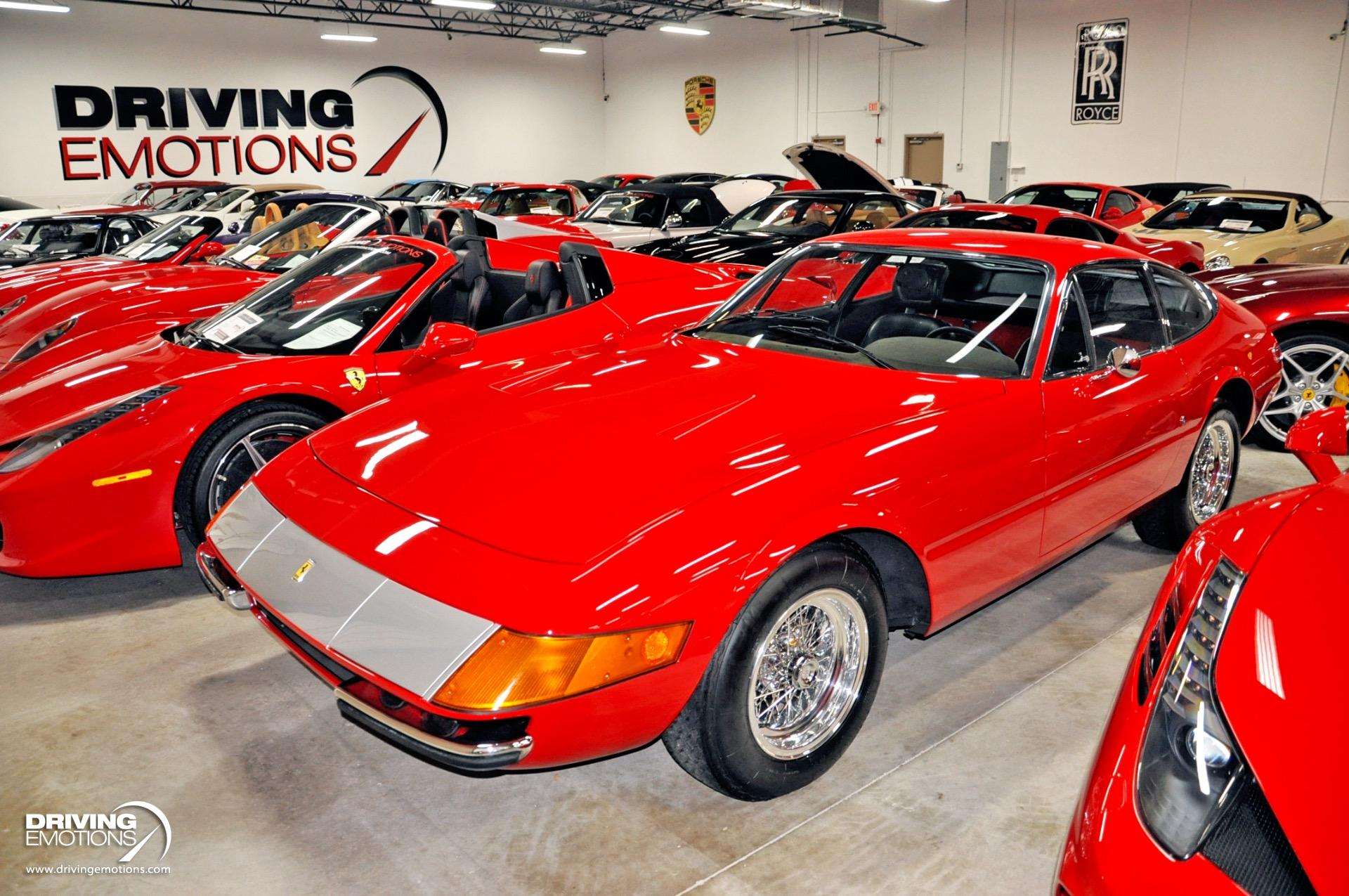 Used 1971 Ferrari 365 GTB/4 Daytona 365 GTB-4 Daytona Coupe | Lake Park, FL