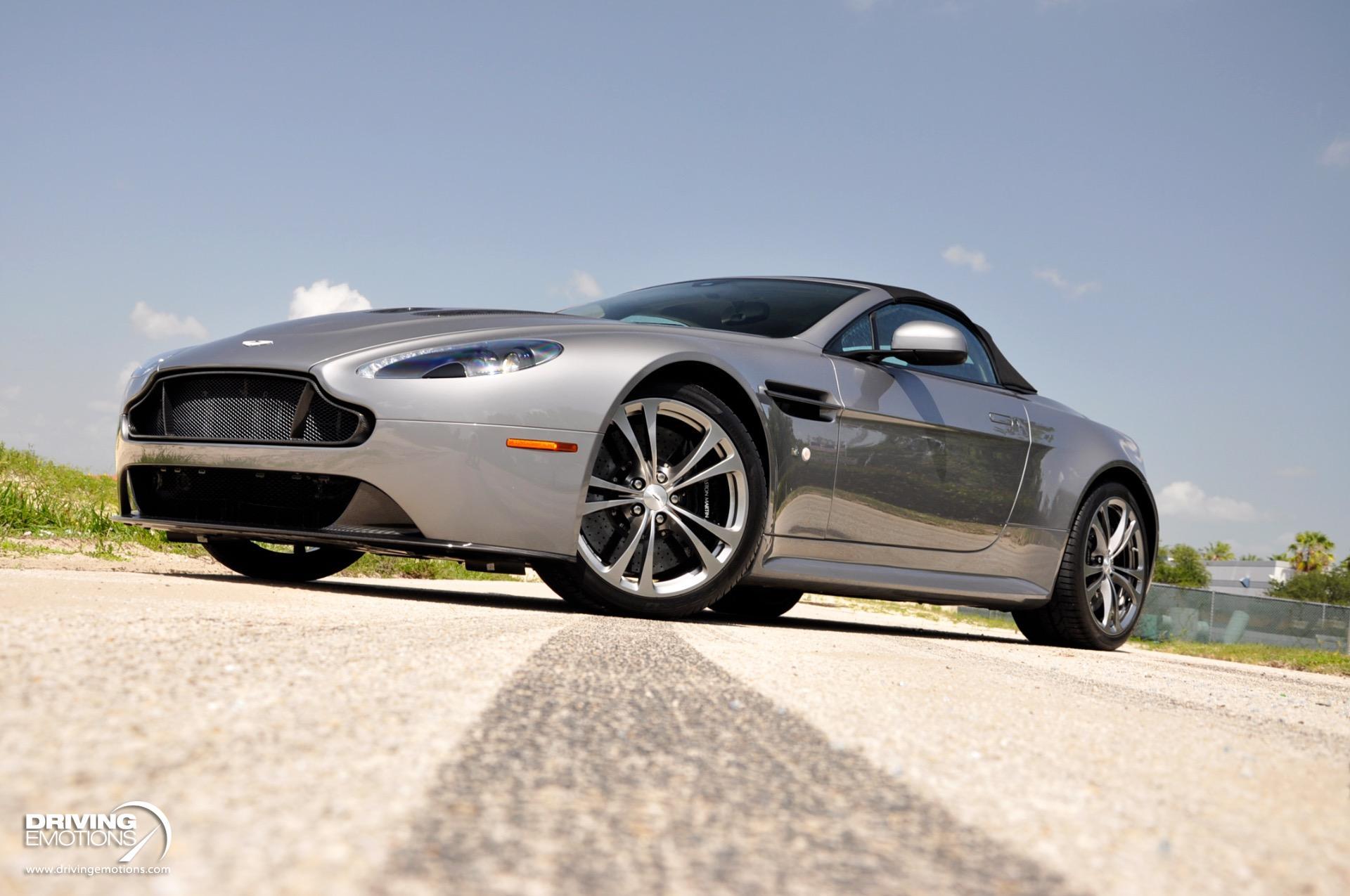 Used 2016 Aston Martin V12 Vantage S Roadster V12 S Roadster | Lake Park, FL