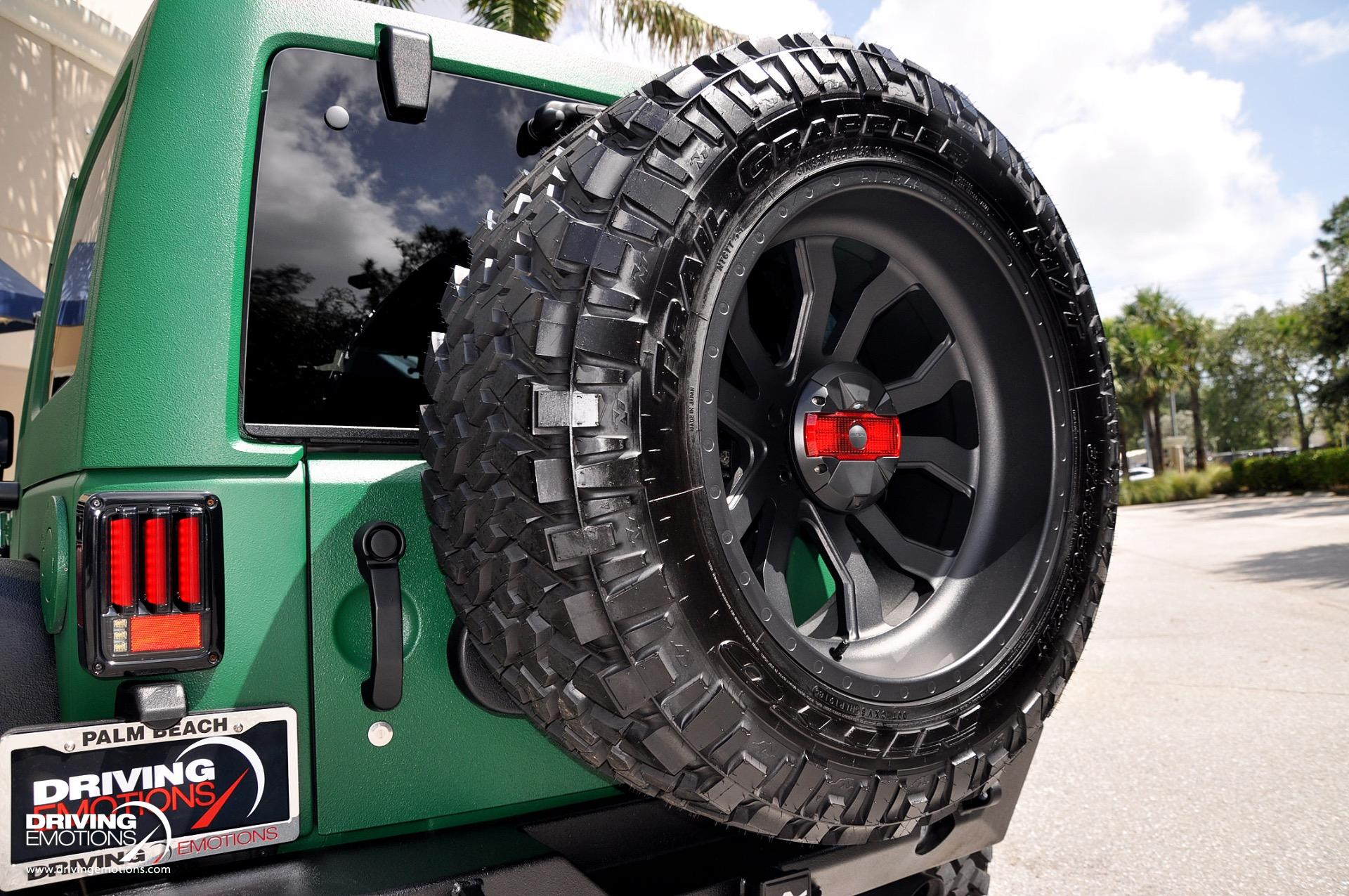 Used 2018 Jeep Wrangler JK Unlimited Supercharged JK Unlimited Sport 4X4 Supercharged | Lake Park, FL