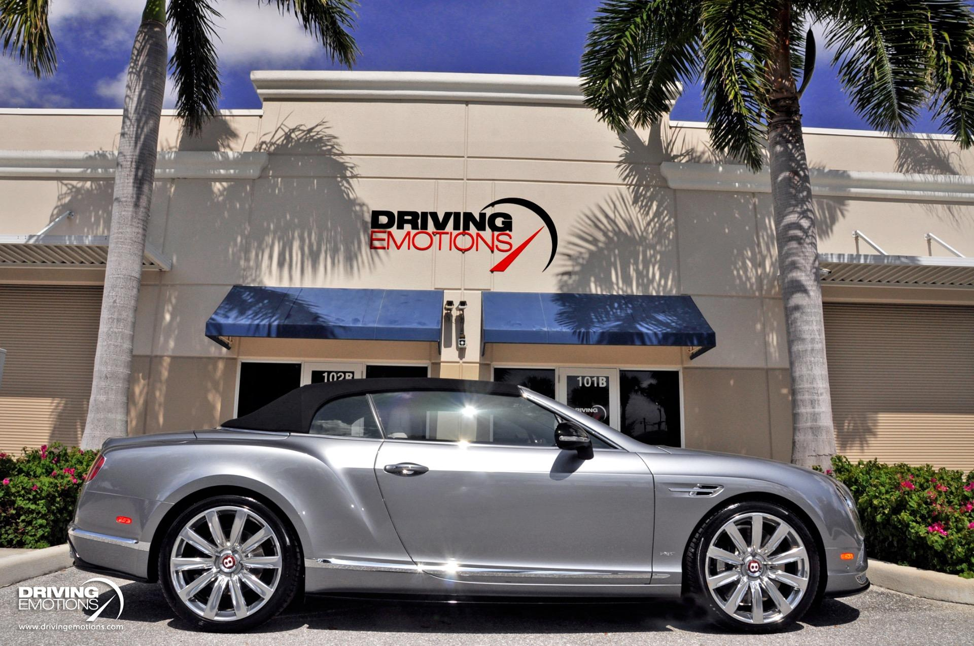 Used 2016 Bentley Continental GT V8 S Convertible V8 S Convertible | Lake Park, FL