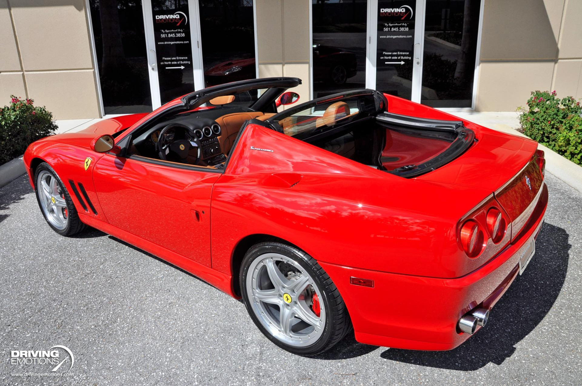 Used 2005 Ferrari 575 Superamerica Superamerica GTC Package F1A | Lake Park, FL