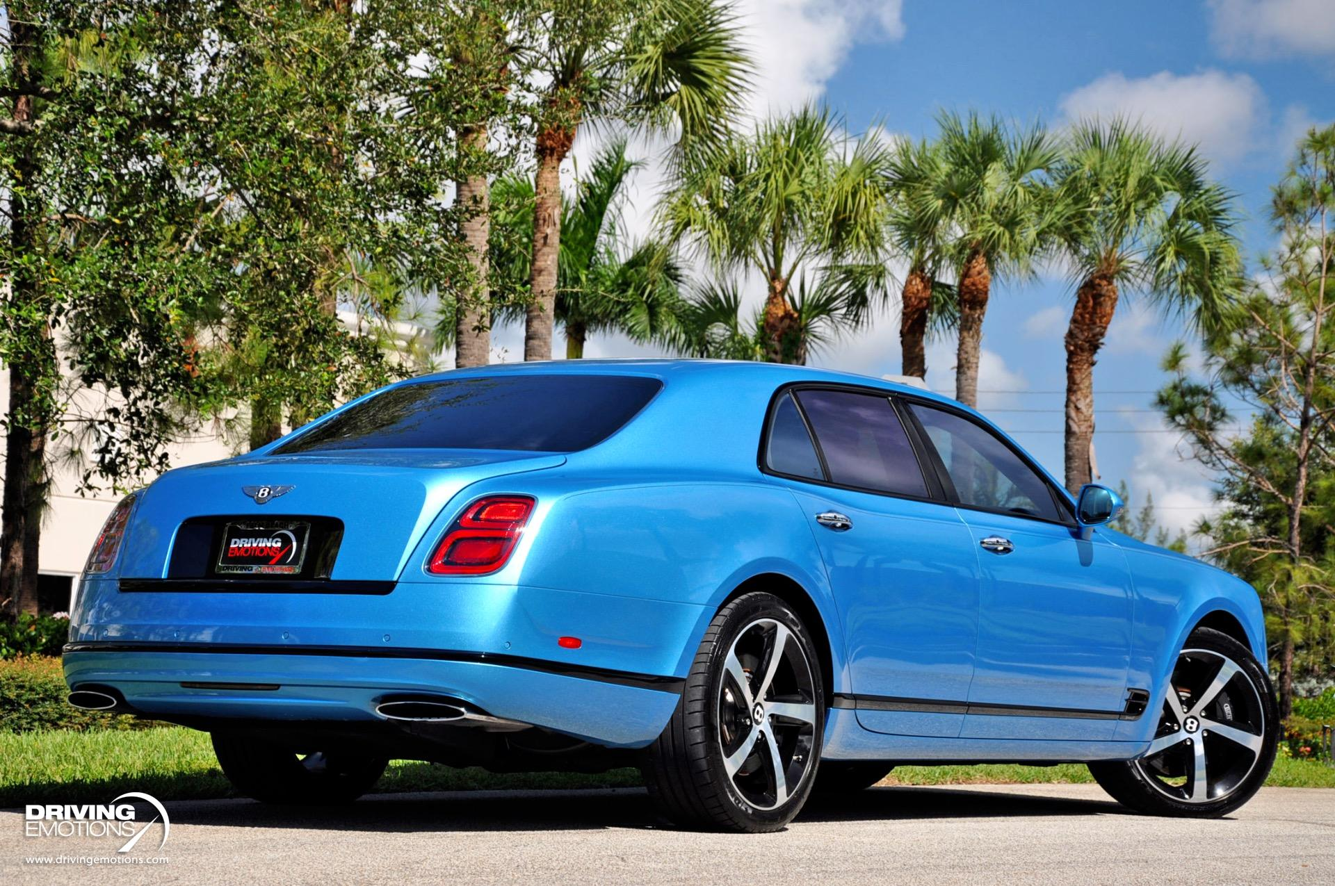 Used 2018 Bentley Mulsanne Speed Mulliner Design Series Speed Design Series | Lake Park, FL