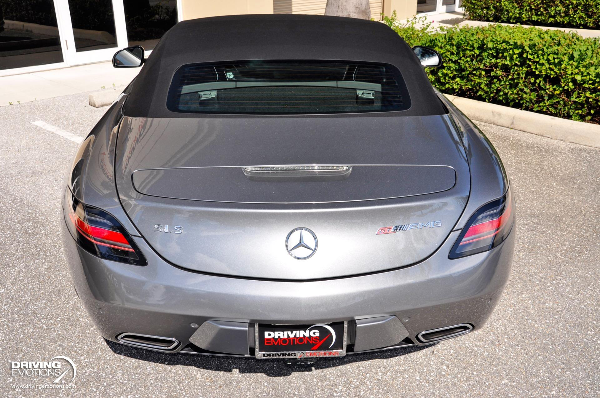 2013 Mercedes Benz Sls Amg Gt Roadster Gt Roadster Stock 6147 For Sale Near Lake Park Fl Fl Mercedes Benz Dealer