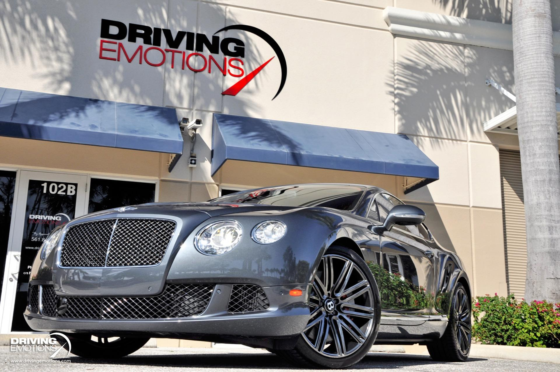 Used 2014 Bentley Continental GT Speed GT Speed W12 Coupe | Lake Park, FL