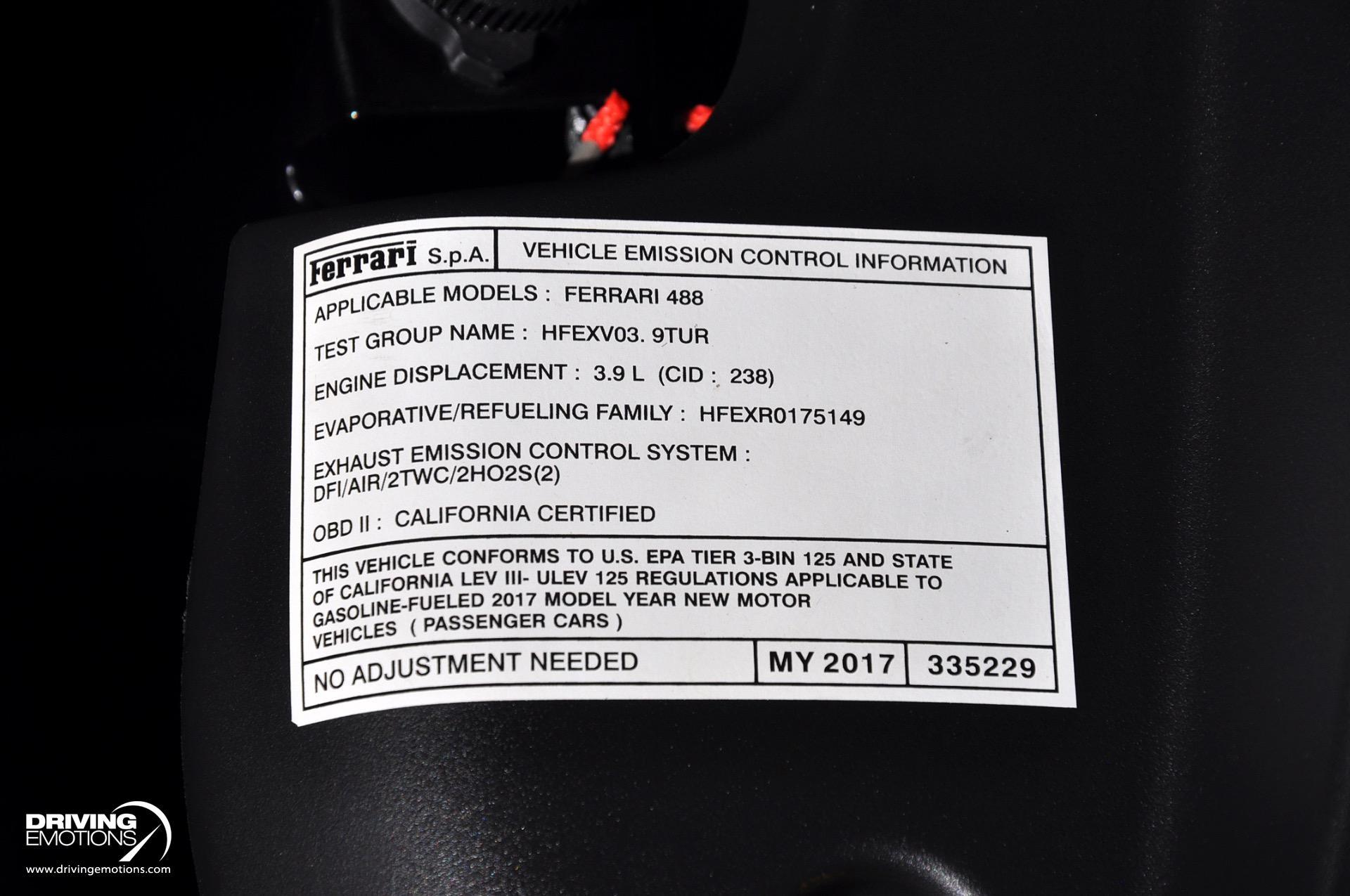 Used 2017 Ferrari 488 Spider Spider $376k MSRP!! | Lake Park, FL