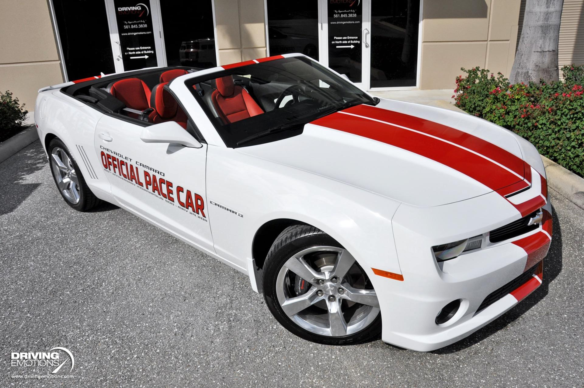 Used 2011 Chevrolet Camaro 2SS Convertible Indianapolis 500 Pace Car Replica 2SS Convertible Indy 500 Pace Car Replica | Lake Park, FL