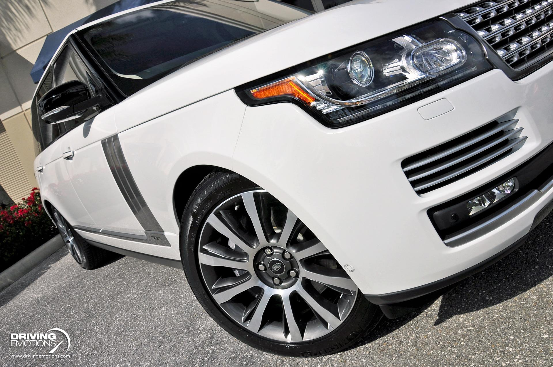 Used 2017 Land Rover Range Rover Autobiography LWB Autobiography LWB $149K MSRP!! | Lake Park, FL