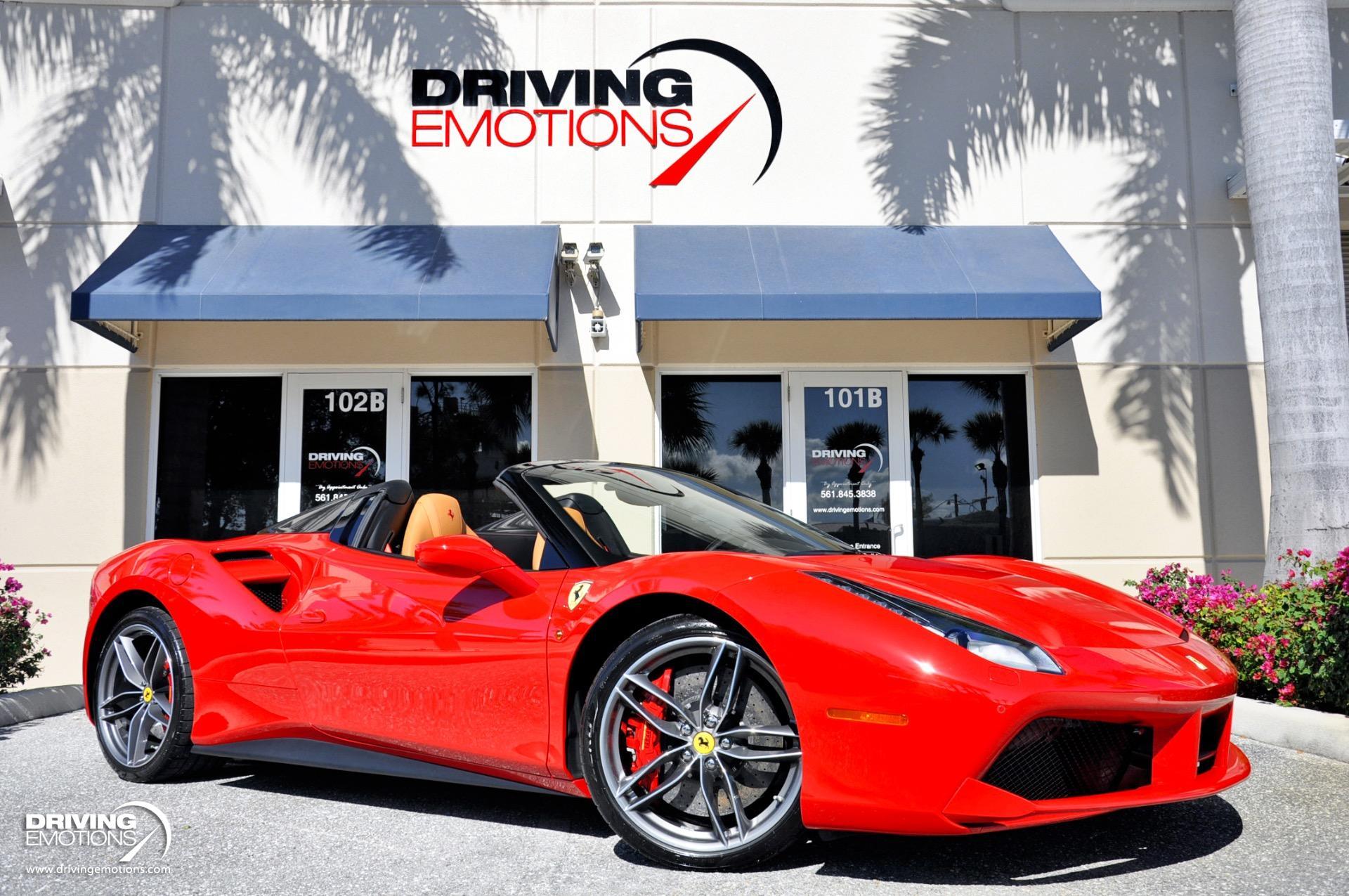 Used 2017 Ferrari 488 Spider F1 Spider $350K MSRP!! | Lake Park, FL