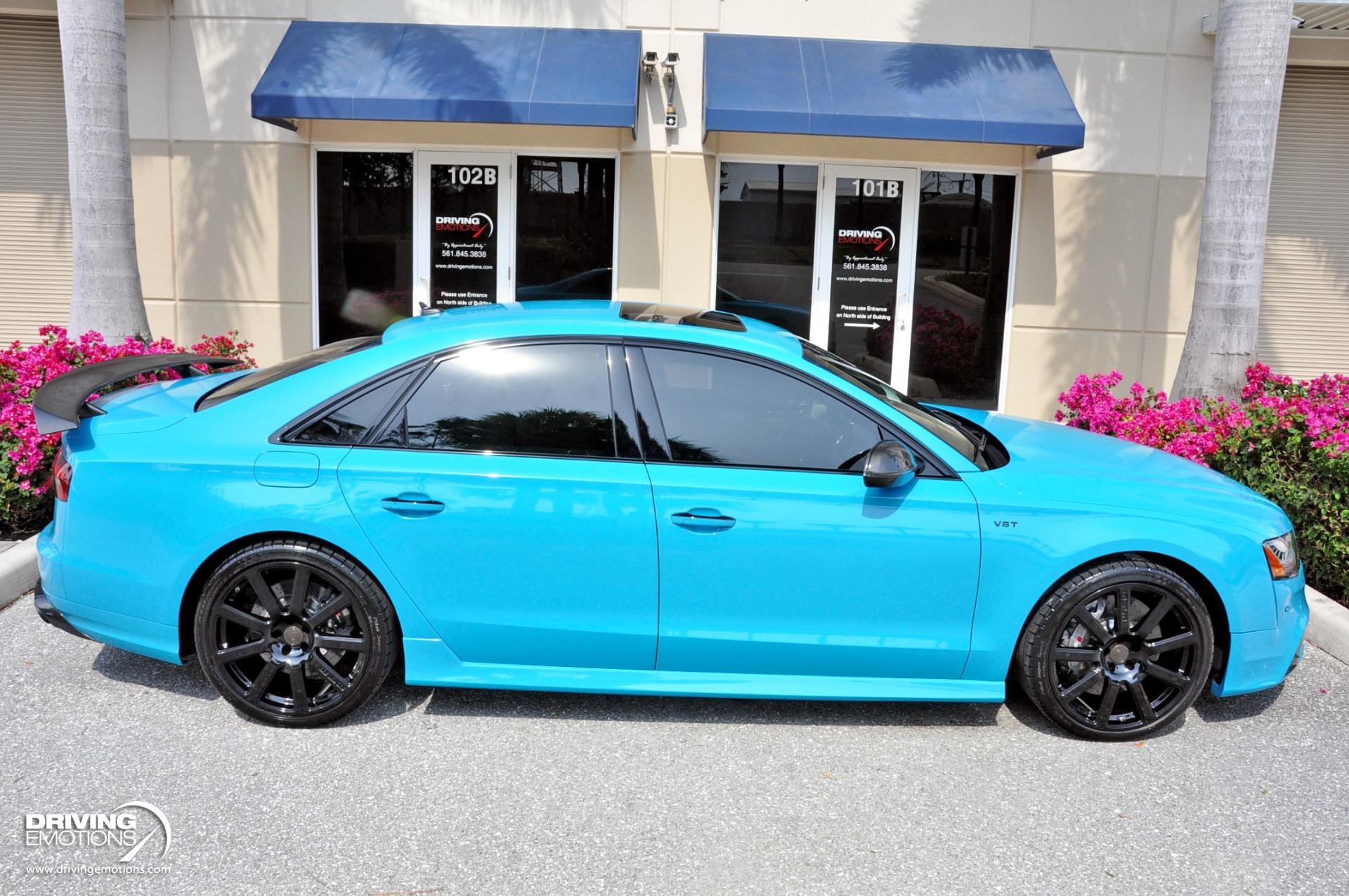Used 2017 Audi S8 Plus MTM Talladega R Plus MTM Talladega R! Audi Exclusive Miami Blue!! | Lake Park, FL