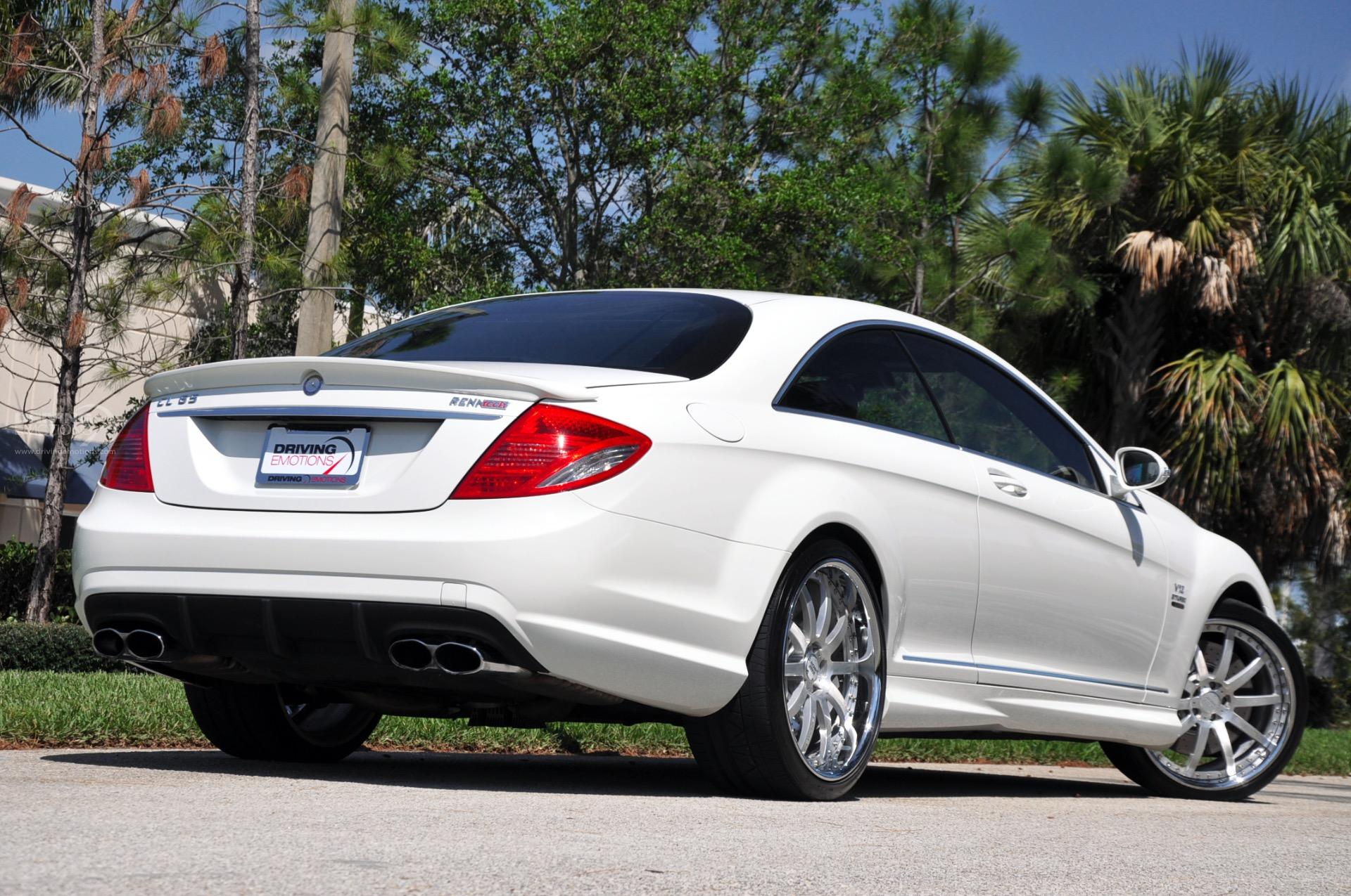 Used 2008 mercedes benz cl65 amg renntech 65 renntech lake park fl