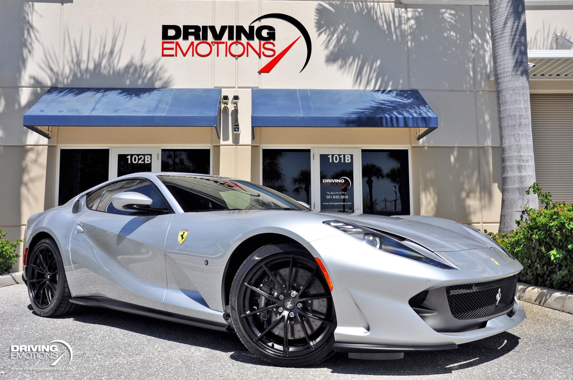 2020 Ferrari 812 Superfast 399k Msrp Stock 6212 For Sale Near Lake Park Fl Fl Ferrari Dealer