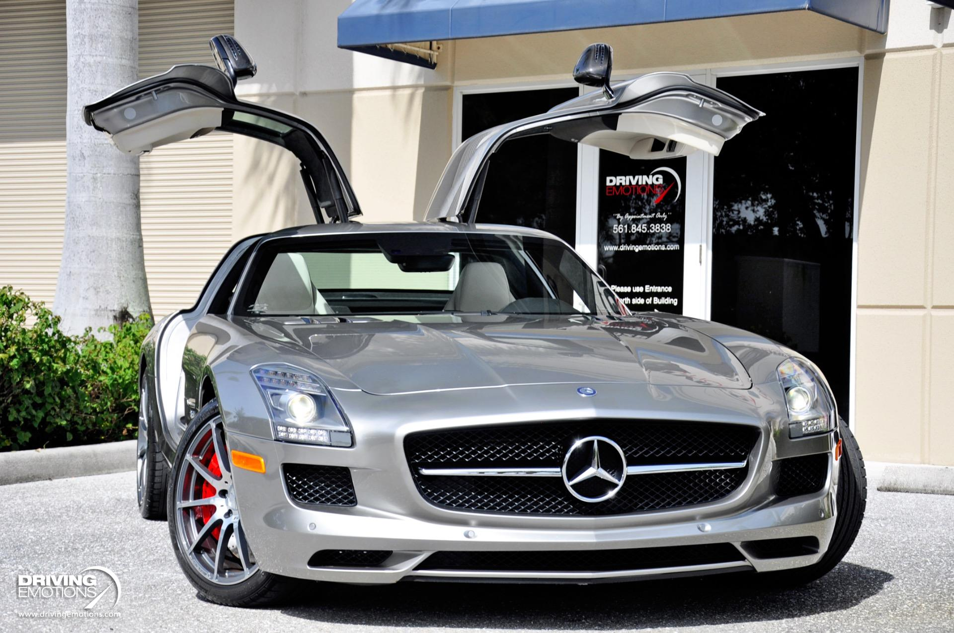 Used 2013 Mercedes-Benz SLS AMG GT Gullwing GT $234k MSRP!! ALUBEAM Silver!! | Lake Park, FL