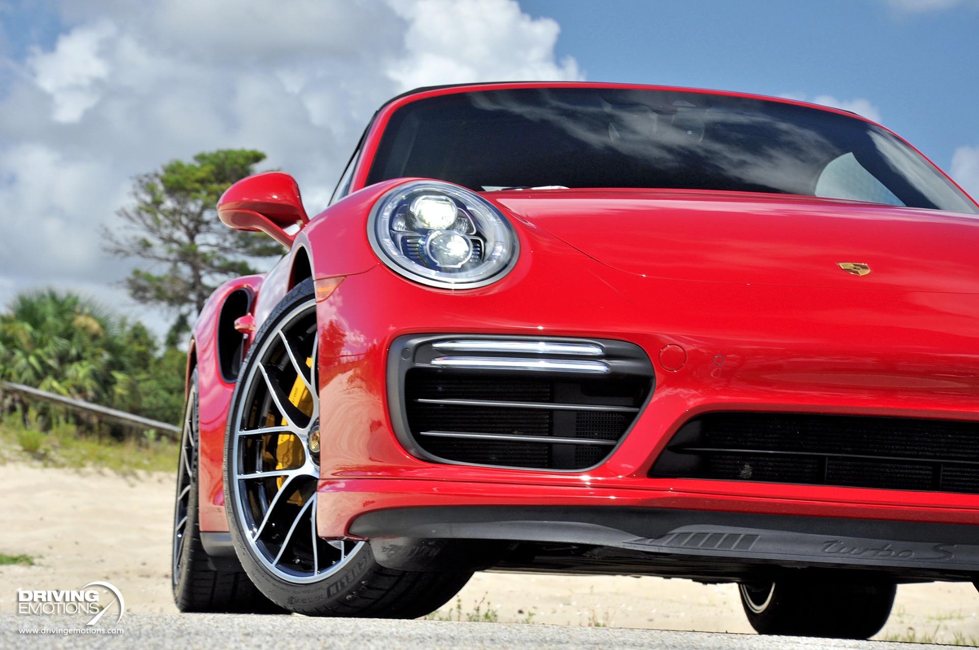 Used 2019 Porsche 911 Turbo S Cabriolet Turbo S Cabriolet $217K MSRP!! | Lake Park, FL