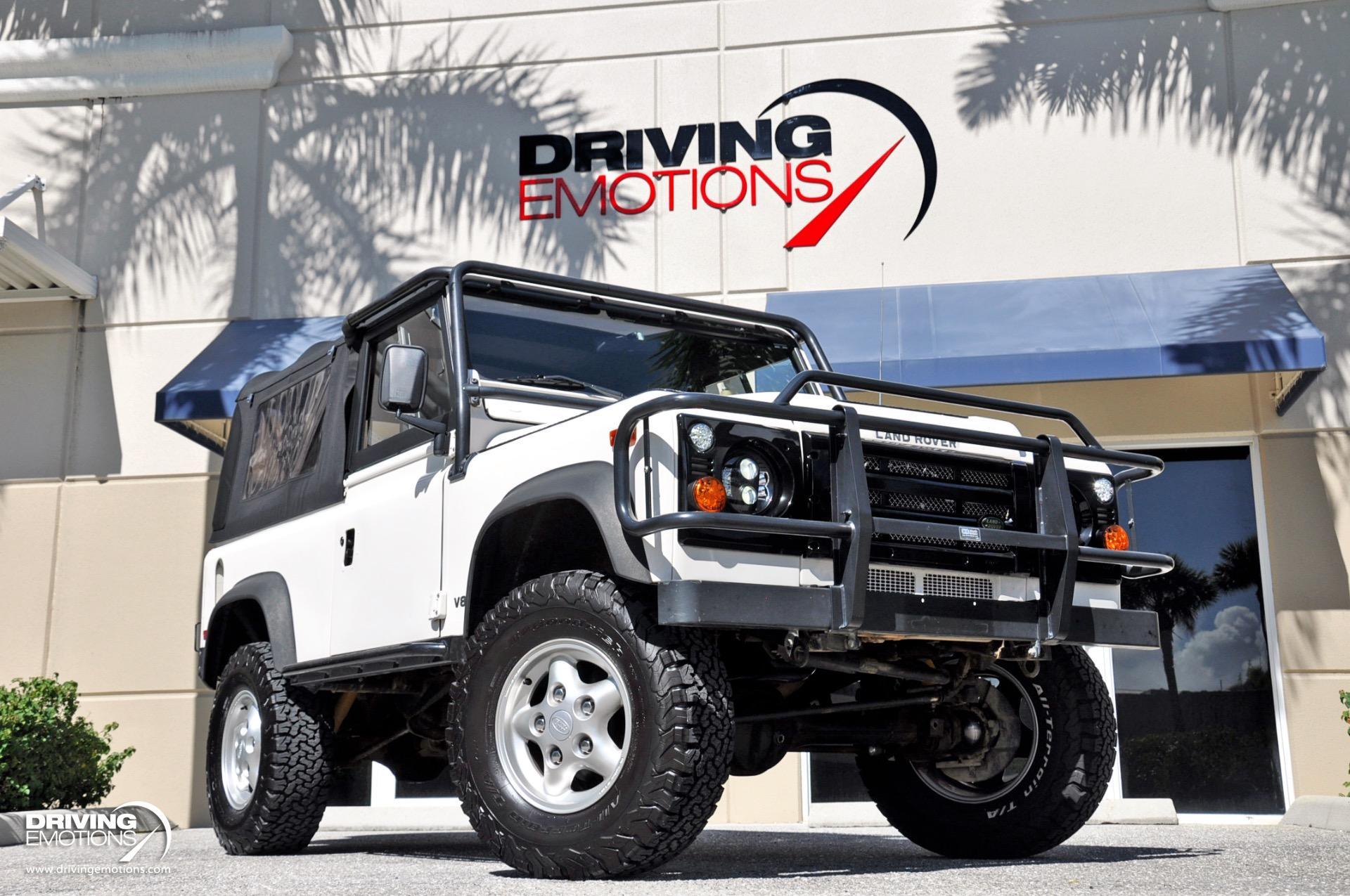 Used 1997 Land Rover Defender 90 Soft Top NAS | Lake Park, FL