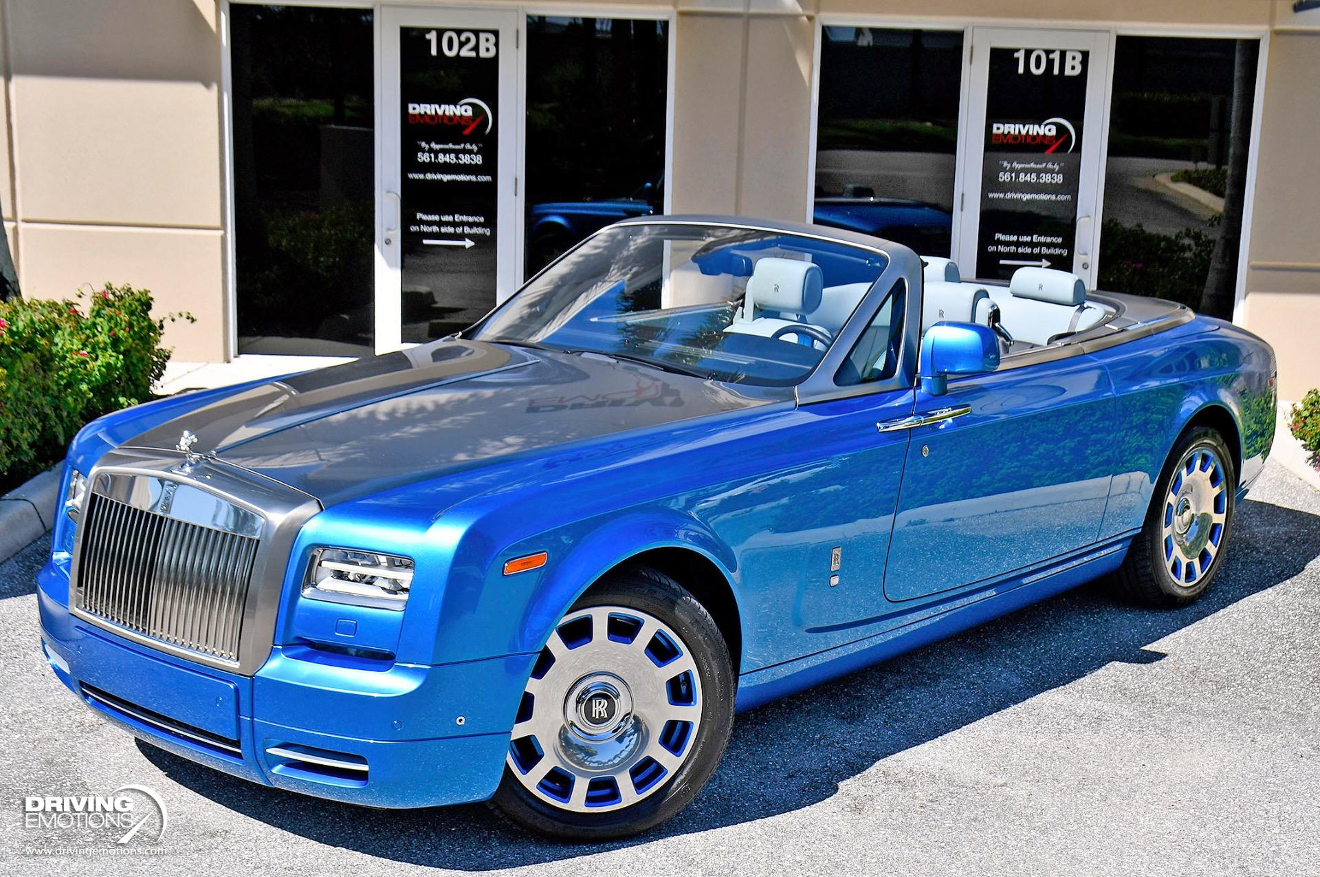 Used 2015 Rolls-Royce Phantom Drophead Coupe Waterspeed Collection $593k MSRP! | Lake Park, FL