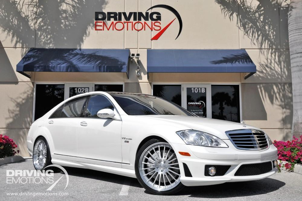 Used 2009 Mercedes Benz S65 Amg Renntech 65 Lake Park Fl