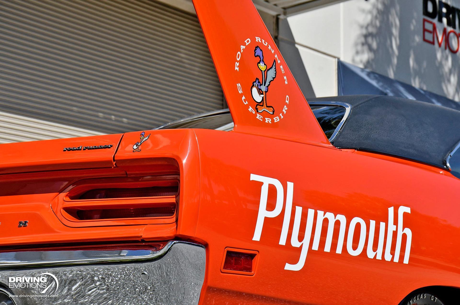 Used 1970 Plymouth Road Runner Superbird 440 Six Barrel 390HP V8   Lake Park, FL