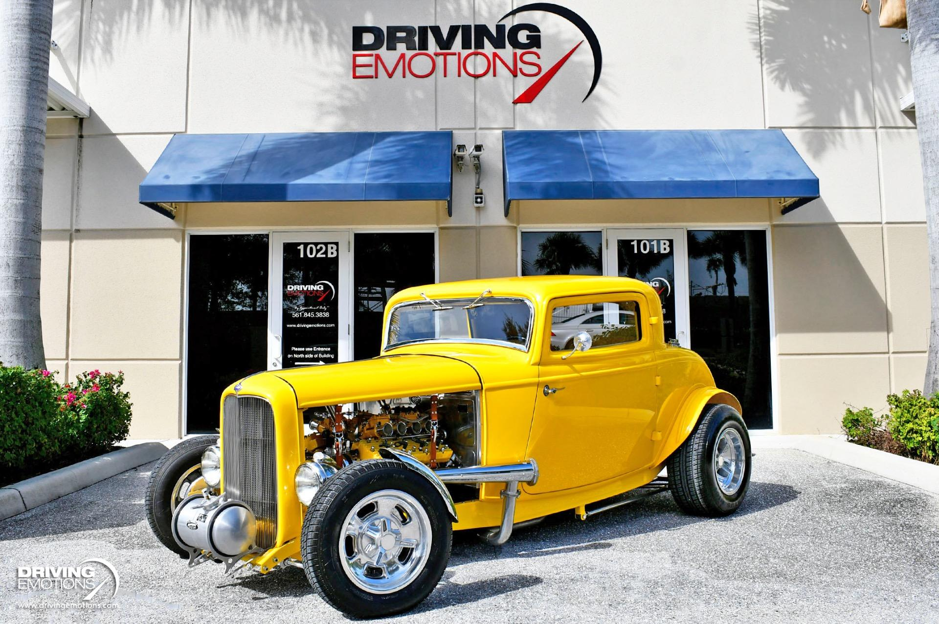 Used 1932 Ford 3-Window Coupe Hot Rod Steel Body | Lake Park, FL