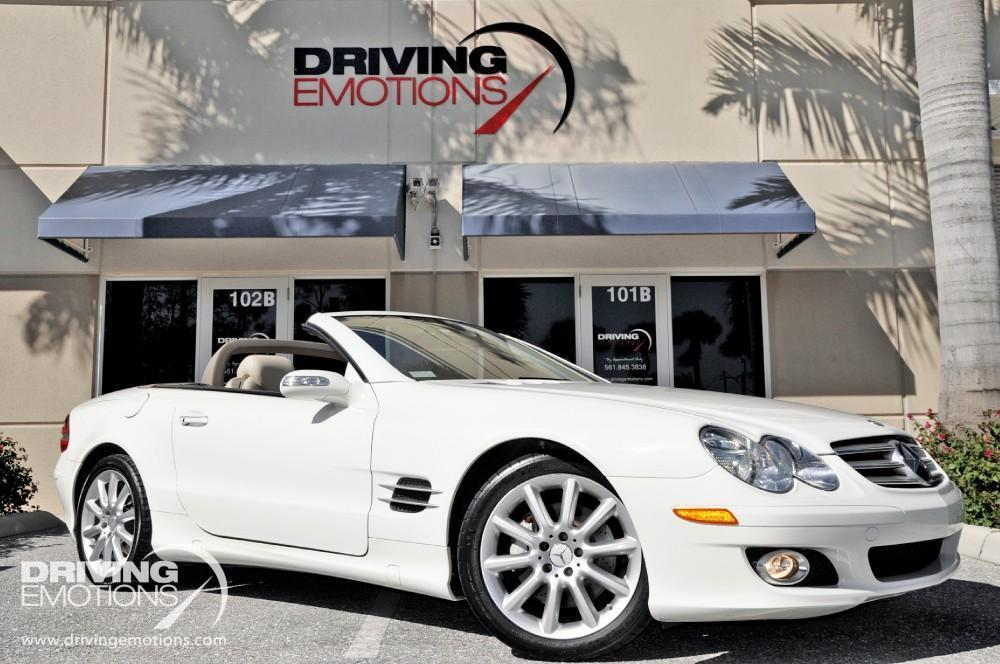 2007 mercedes benz sl550 convertible stock 5638 for sale for Mercedes benz sl550 for sale