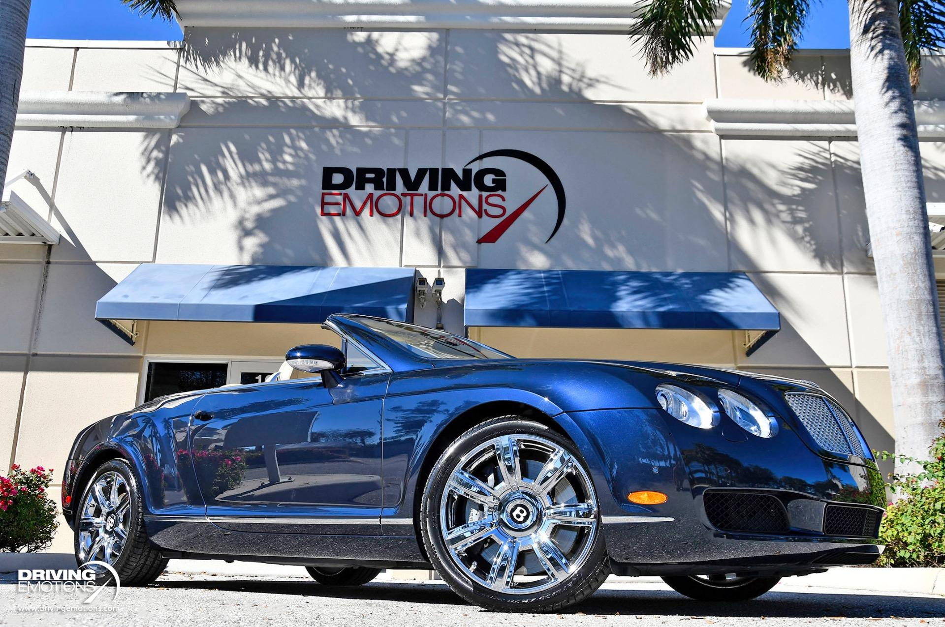Used 2008 Bentley Continental GTC GT Convertible   Lake Park, FL