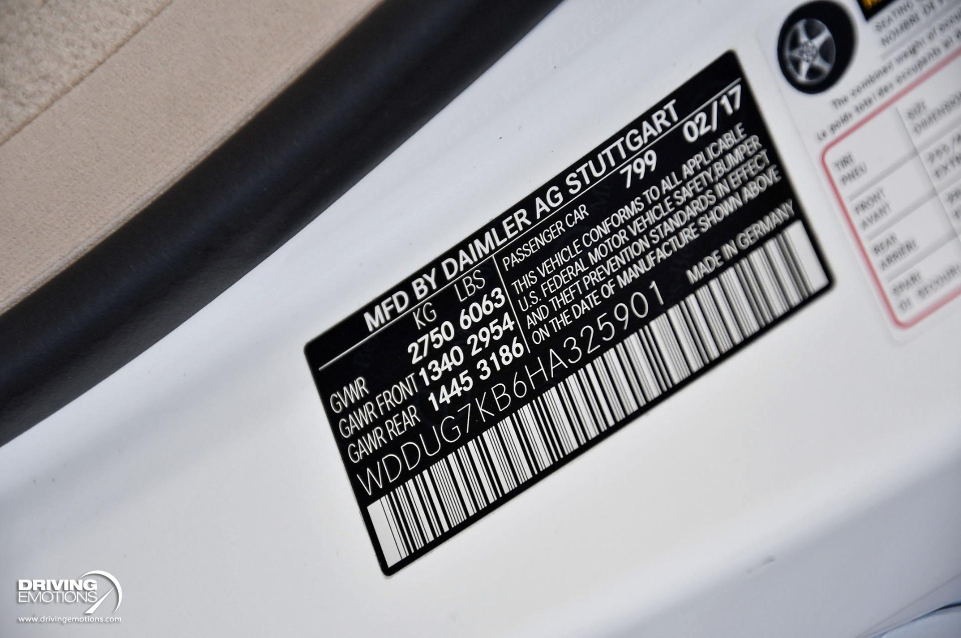 Used 2017 Mercedes-Benz S65 AMG AMG S 65 V12 Bi Turbo $239k MSRP!!   Lake Park, FL