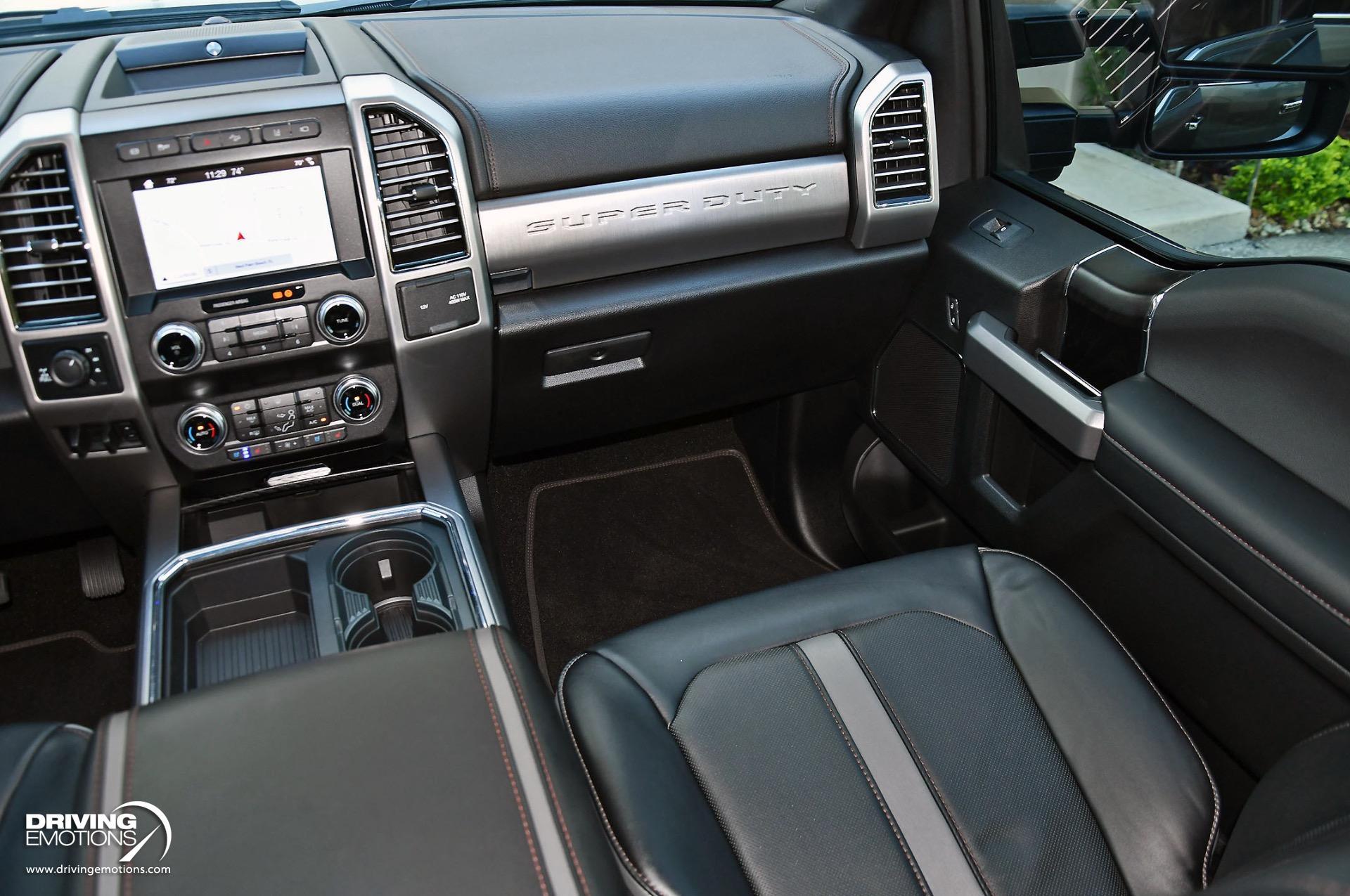 Used 2019 Ford F-350 Super Duty Platinum 4X4 Crew Cab 6.7L Power Stroke V8 Diesel | Lake Park, FL