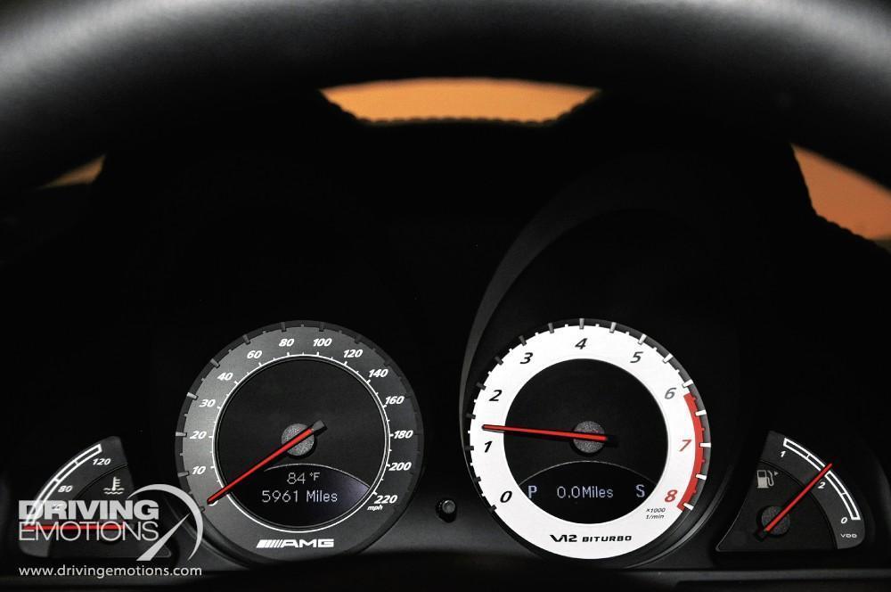 2009 Mercedes Benz Sl65 Amg Black Series Renntech Sl65 Amg