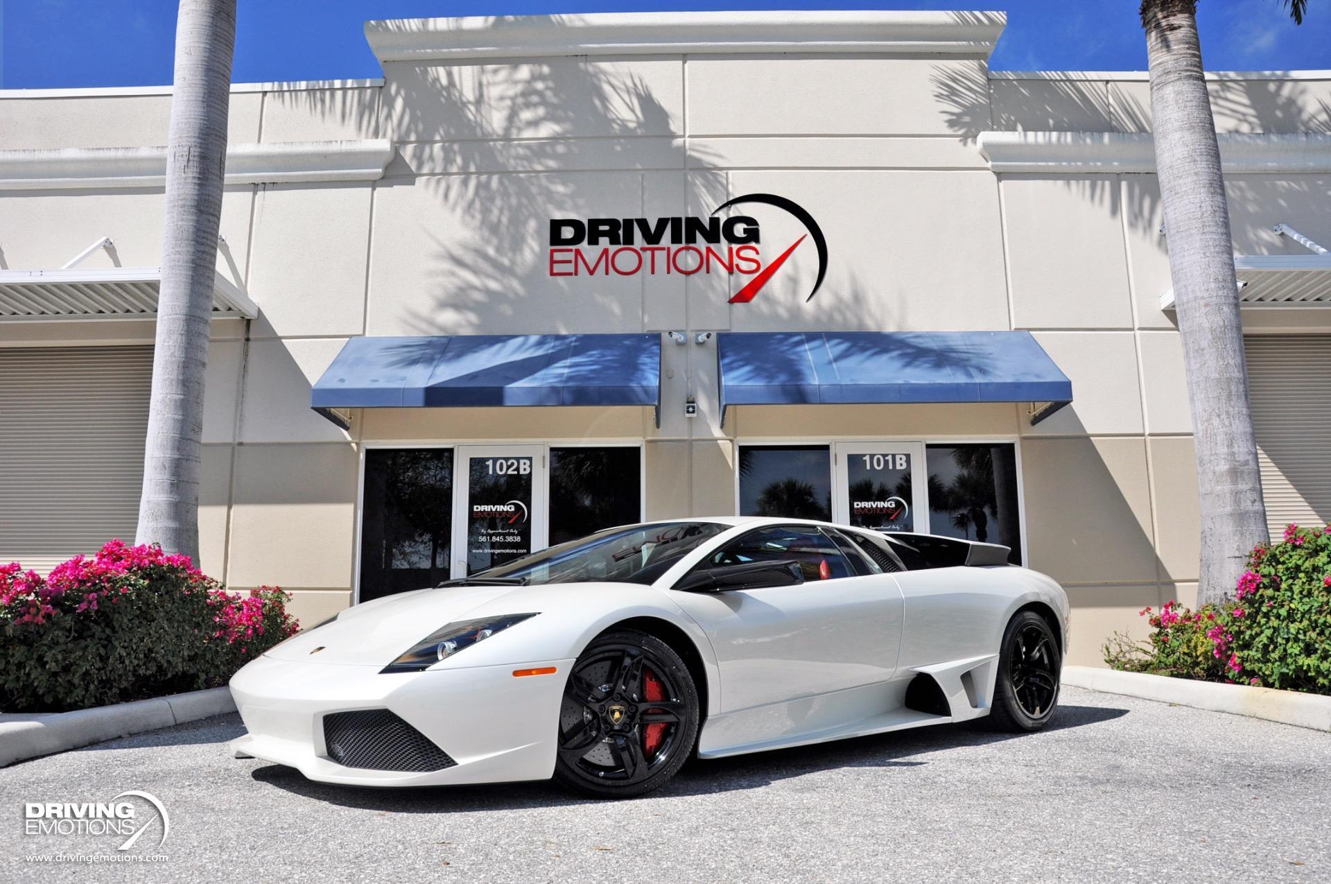 Used 2009 Lamborghini Murcielago LP640 Coupe LP 640 WHITE/RED! | Lake Park, FL