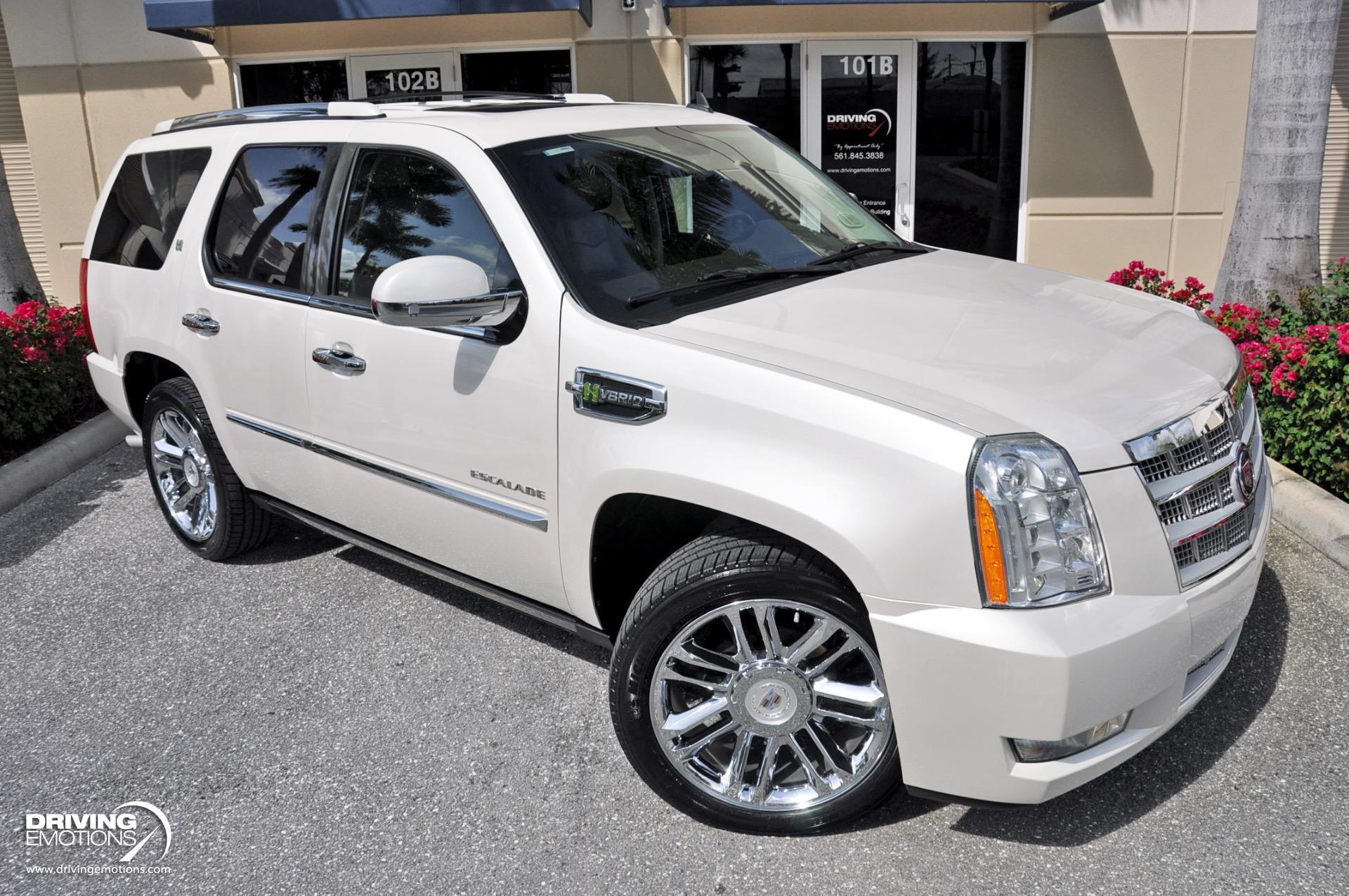 Used 2010 Cadillac Escalade Hybrid Platinum Edition | Lake Park, FL