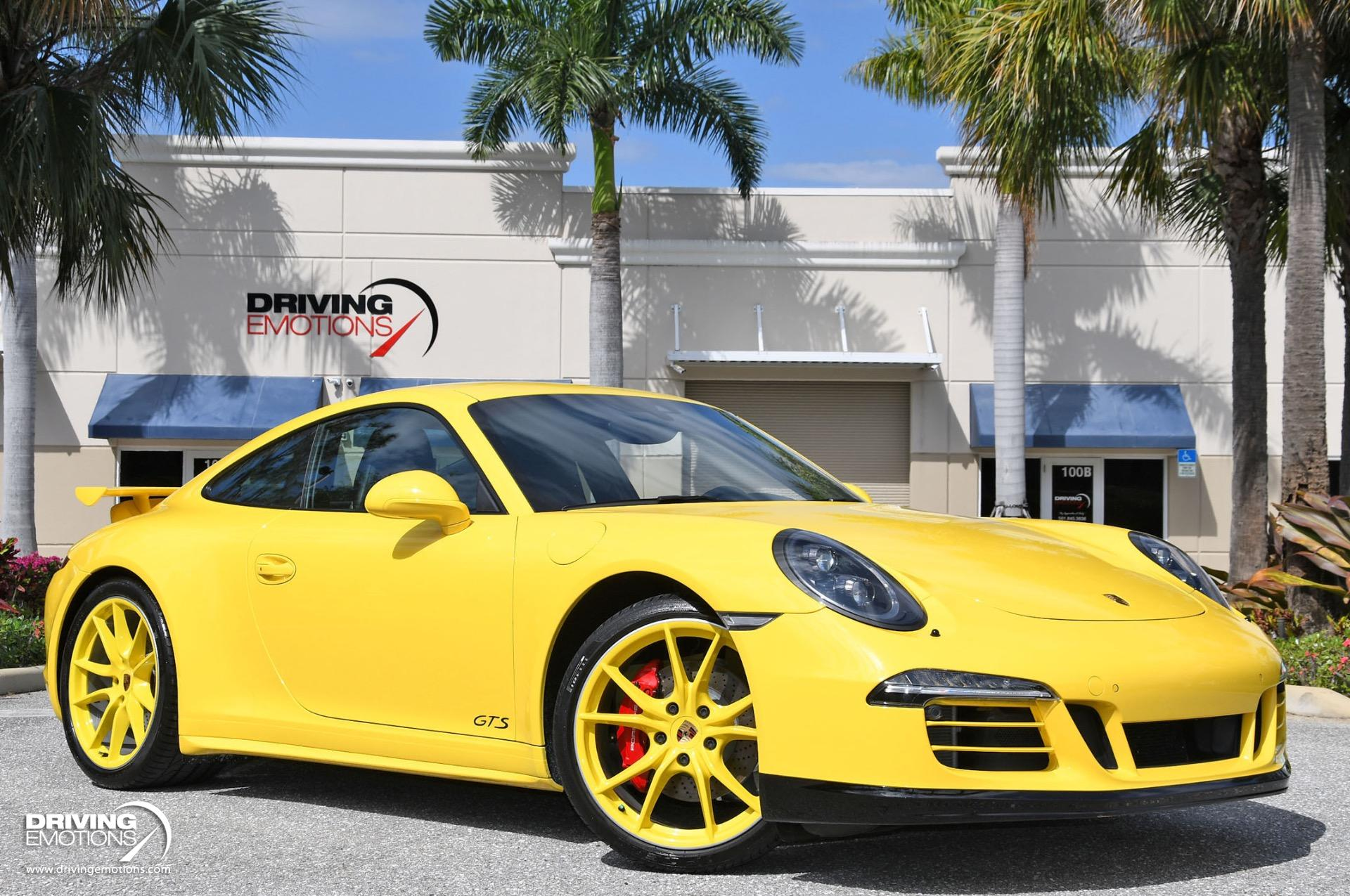 Used 2016 Porsche 911 Carrera GTS Carrera GTS AeroKit Cup! 7-Speed Manual! $132k MSRP!! | Lake Park, FL