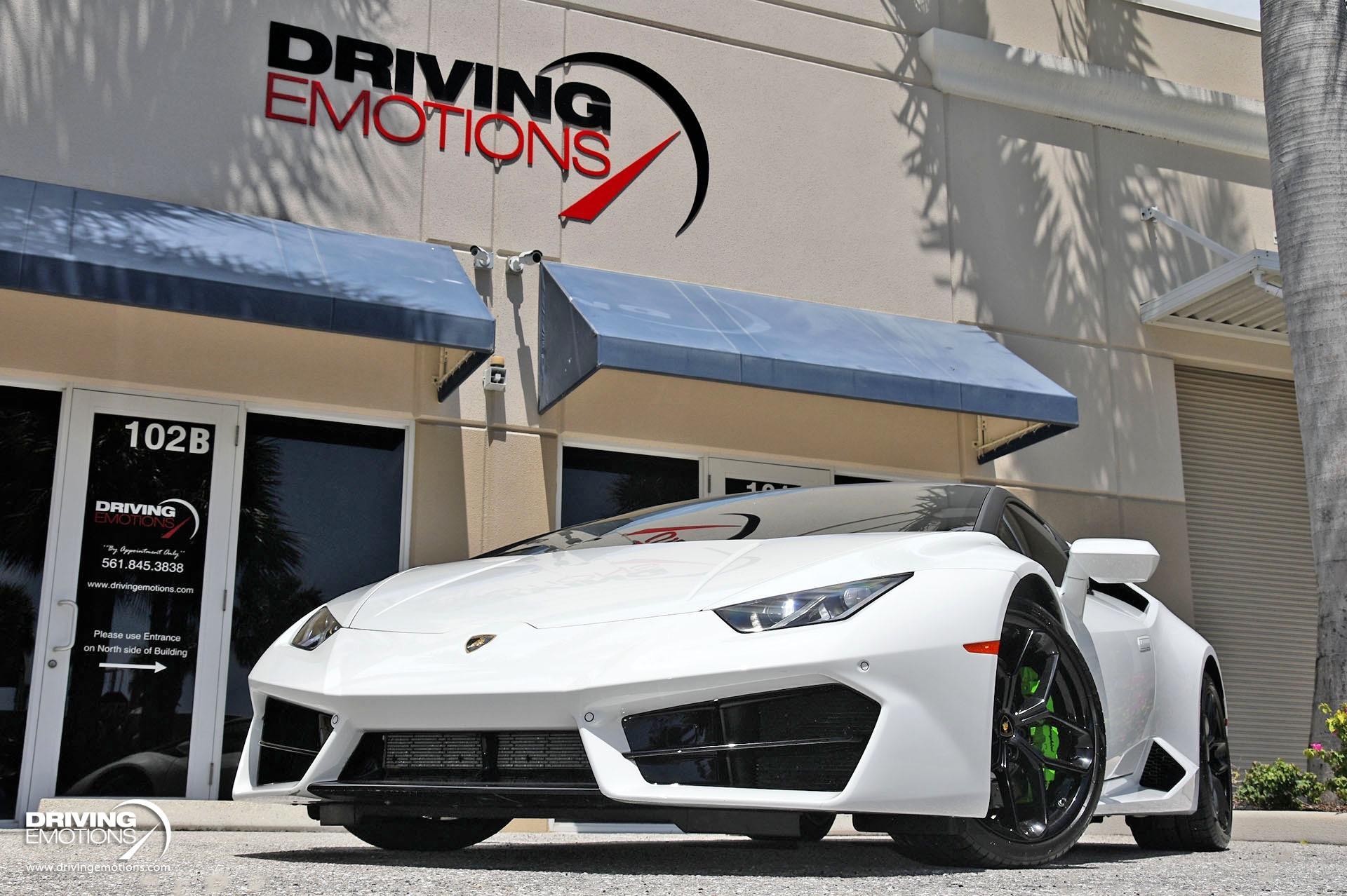 Used 2018 Lamborghini Huracan LP580-2 LP 580-2 Coupe | Lake Park, FL