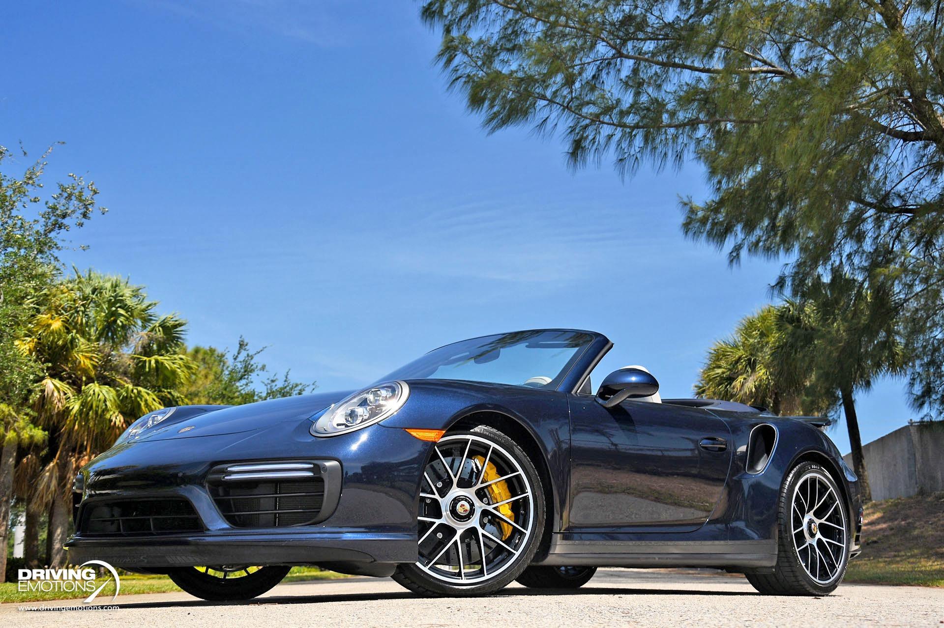Used 2019 Porsche 911 Turbo S Cabriolet Turbo S Cabriolet   Lake Park, FL