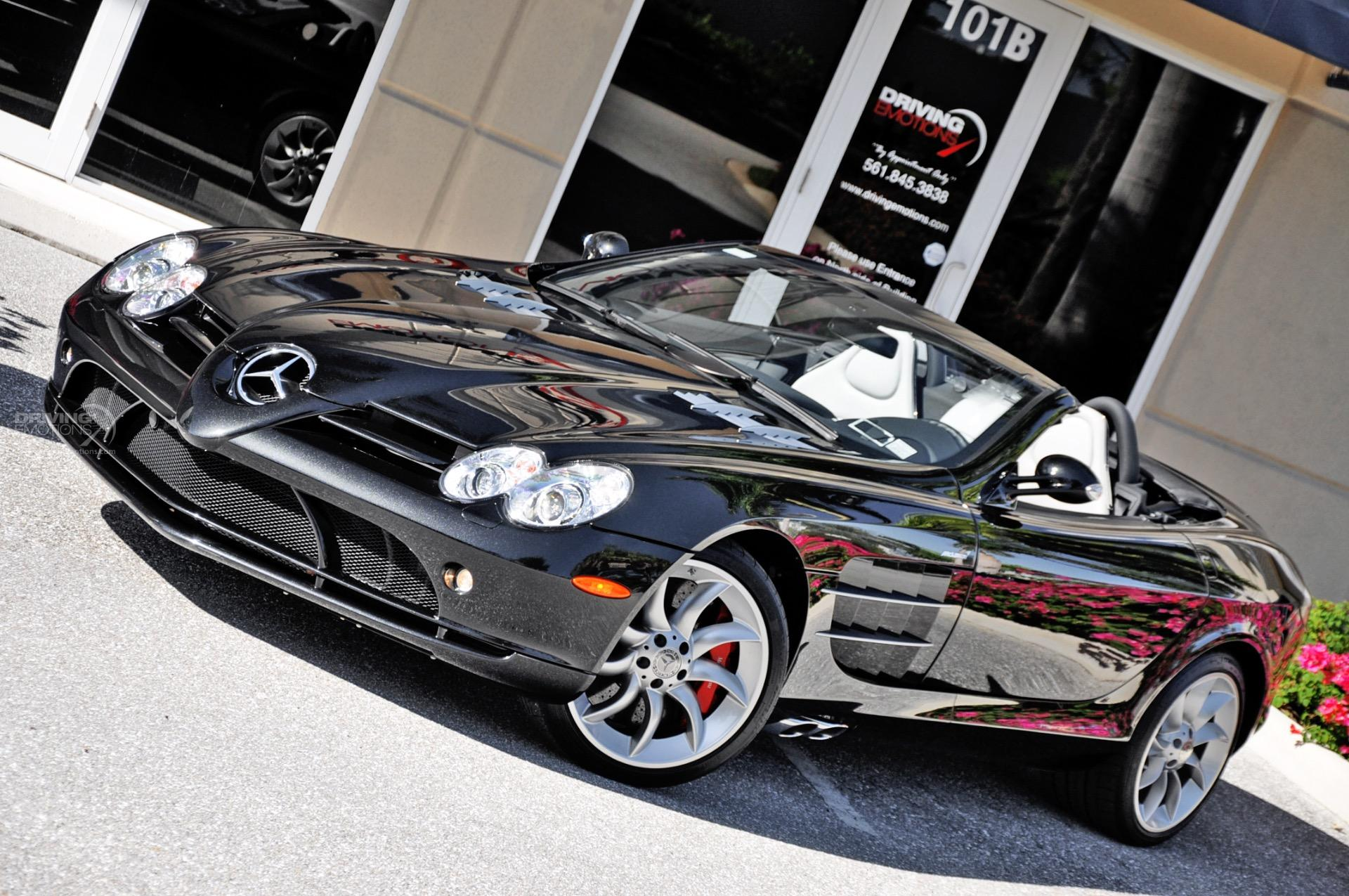 Used 2009 Mercedes-Benz SLR McLaren Roadster Roadster | Lake Park, FL