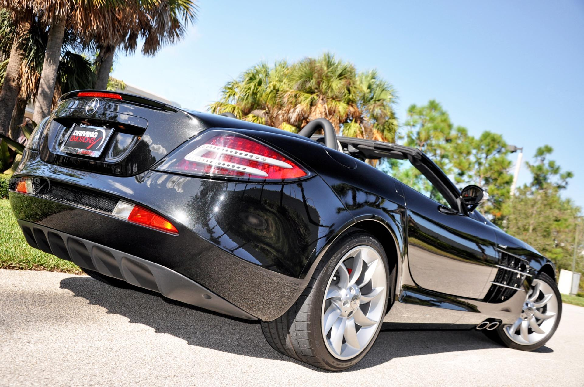 2009 mercedes benz slr mclaren roadster roadster stock for Mercedes benz dealers in florida
