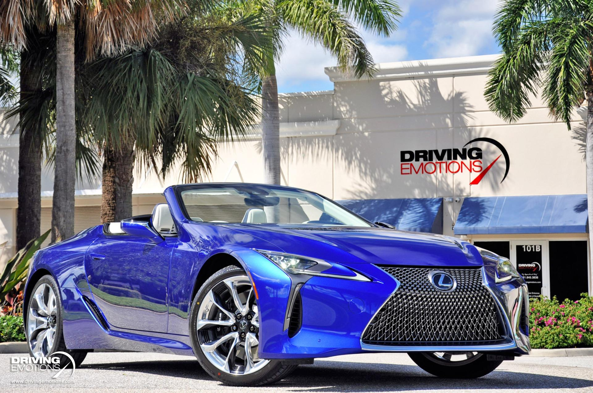 Used 2021 Lexus LC 500 Convertible Inspiration Series! Number 86 of 100 Built! RARE!! | Lake Park, FL