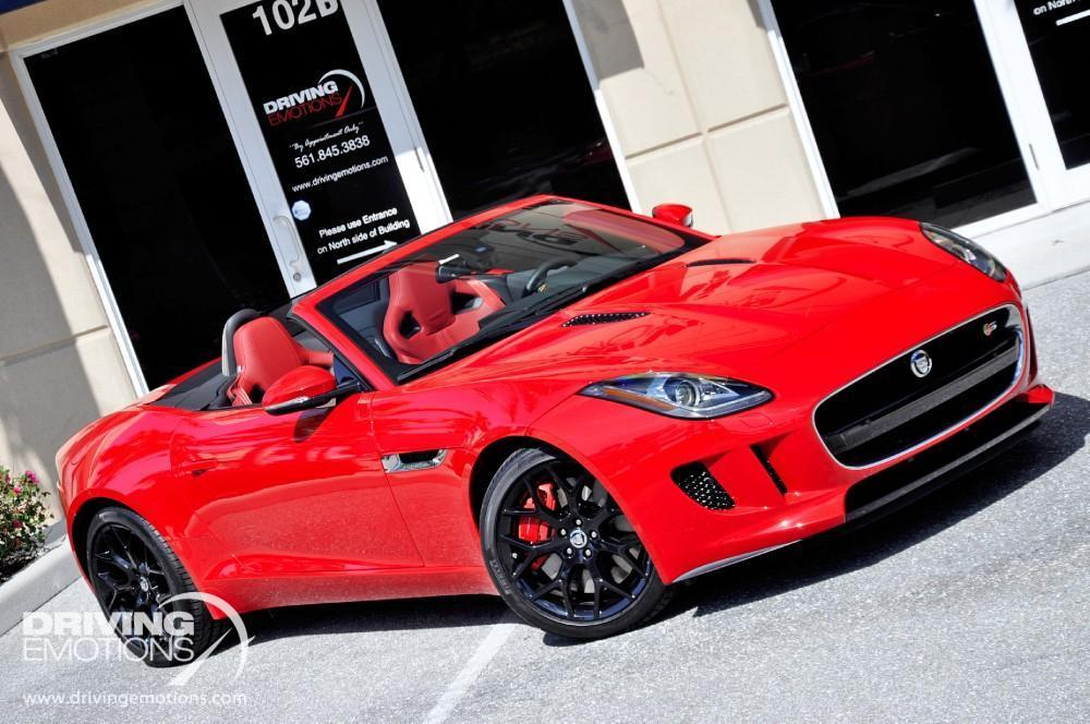 2014 jaguar f type s convertible s convertible stock 5670 for sale near lake park fl fl. Black Bedroom Furniture Sets. Home Design Ideas